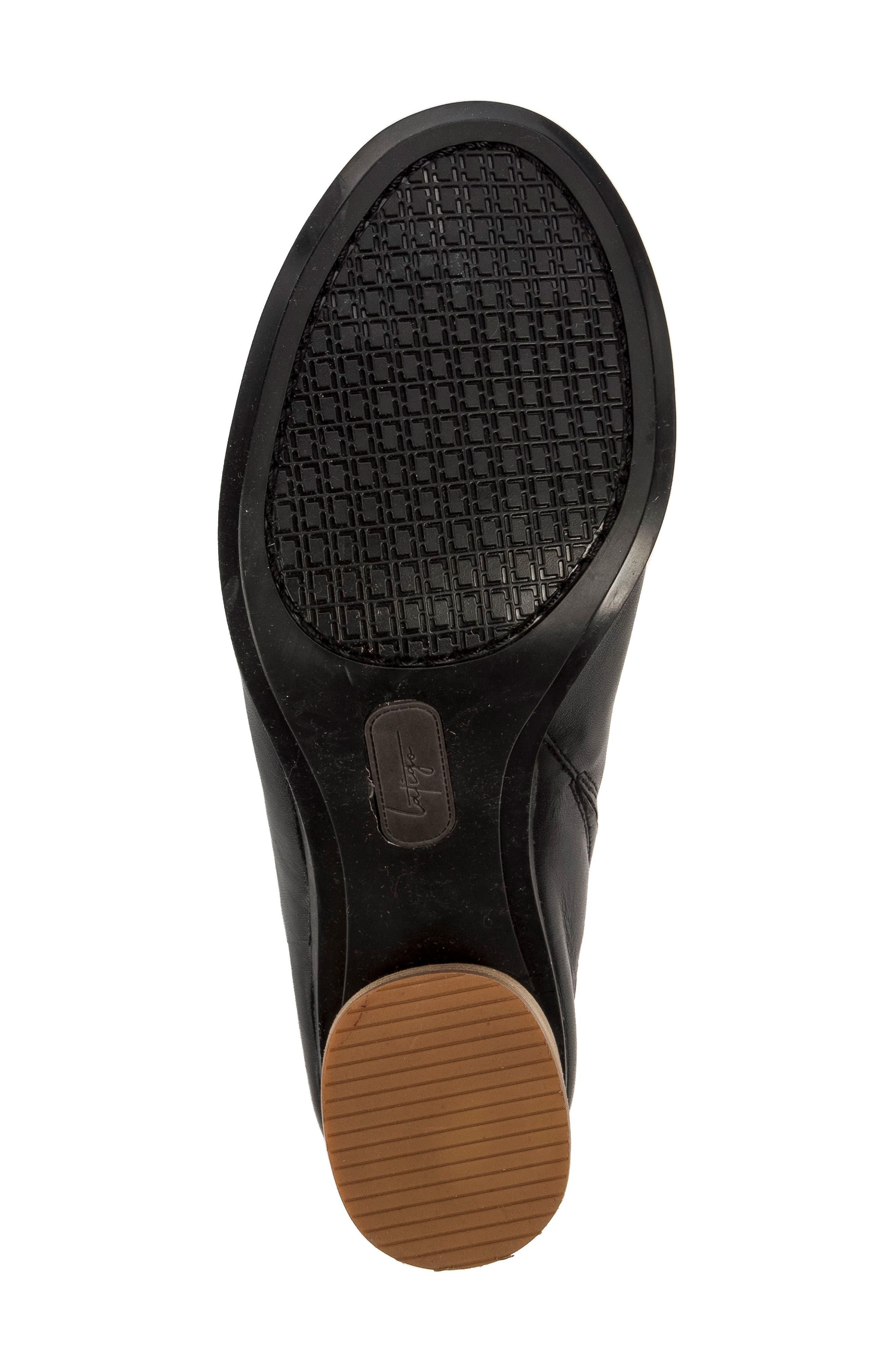 Hallie Loafer Sandal,                             Alternate thumbnail 6, color,                             001