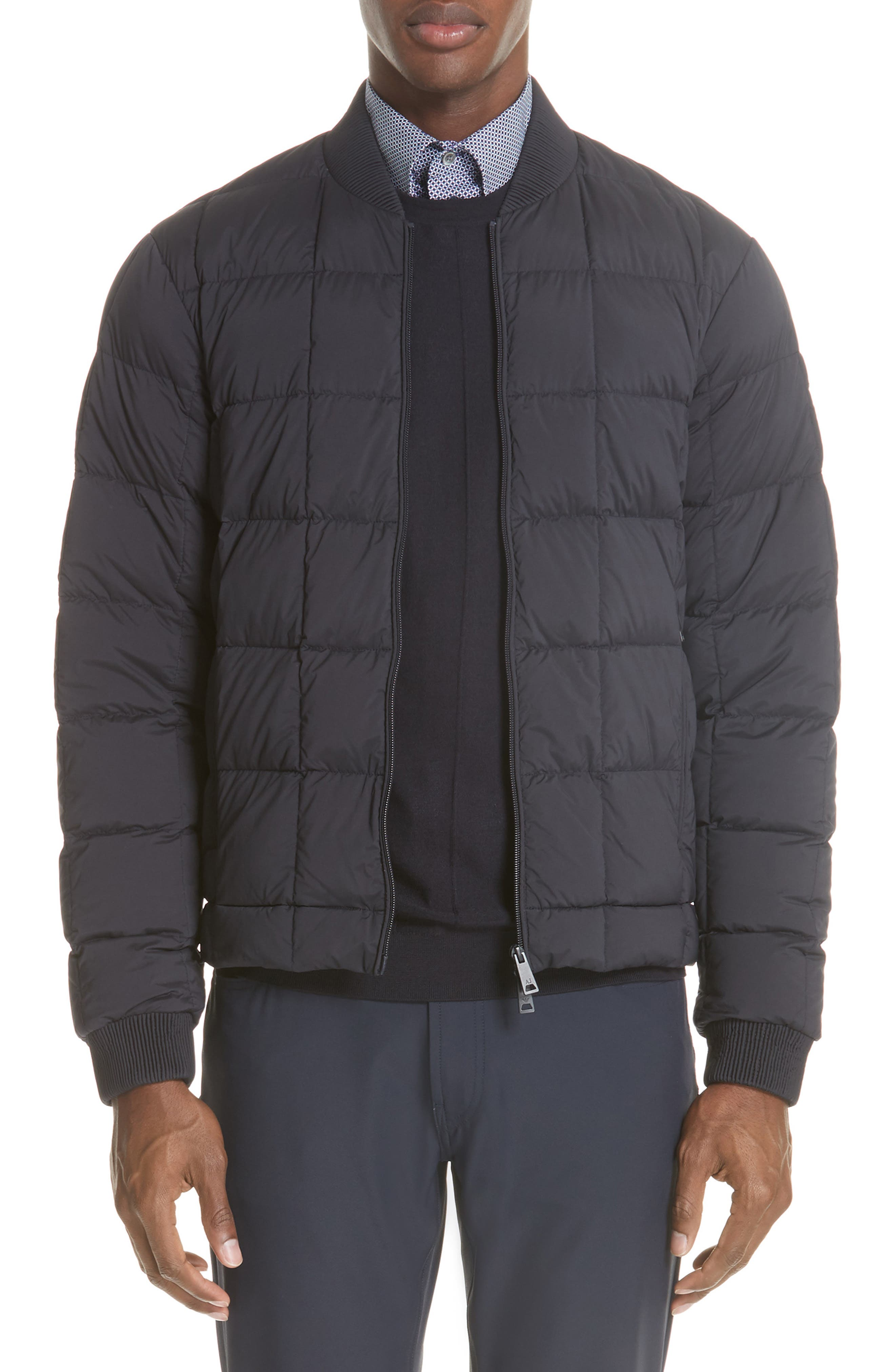 Quilted Down Jacket, Main, color, 400
