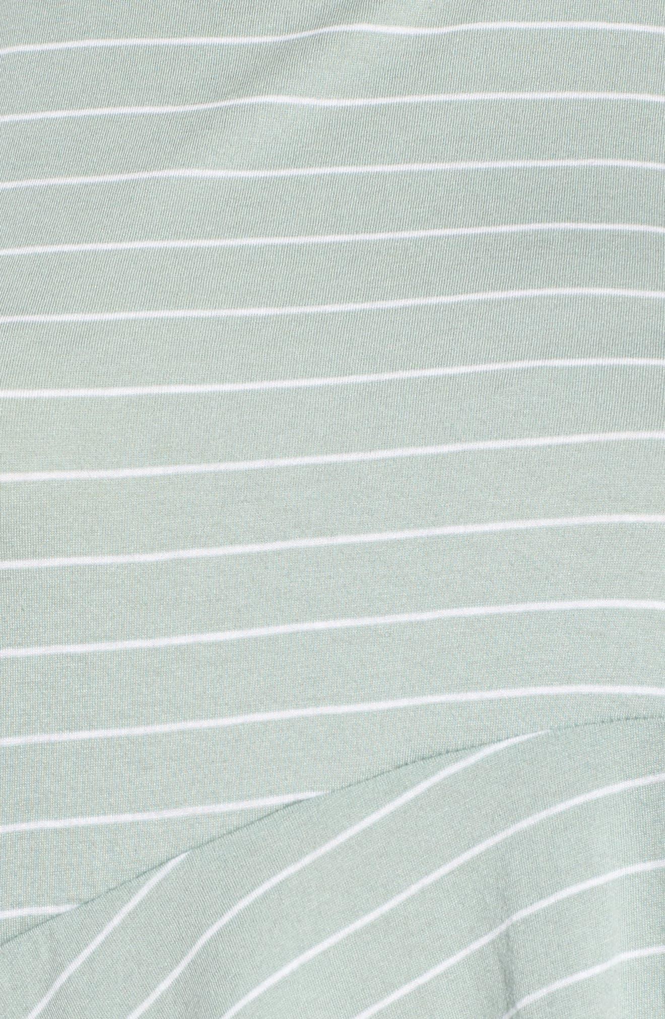 Stripe Asymmetrical Hem Tank,                             Alternate thumbnail 5, color,                             445