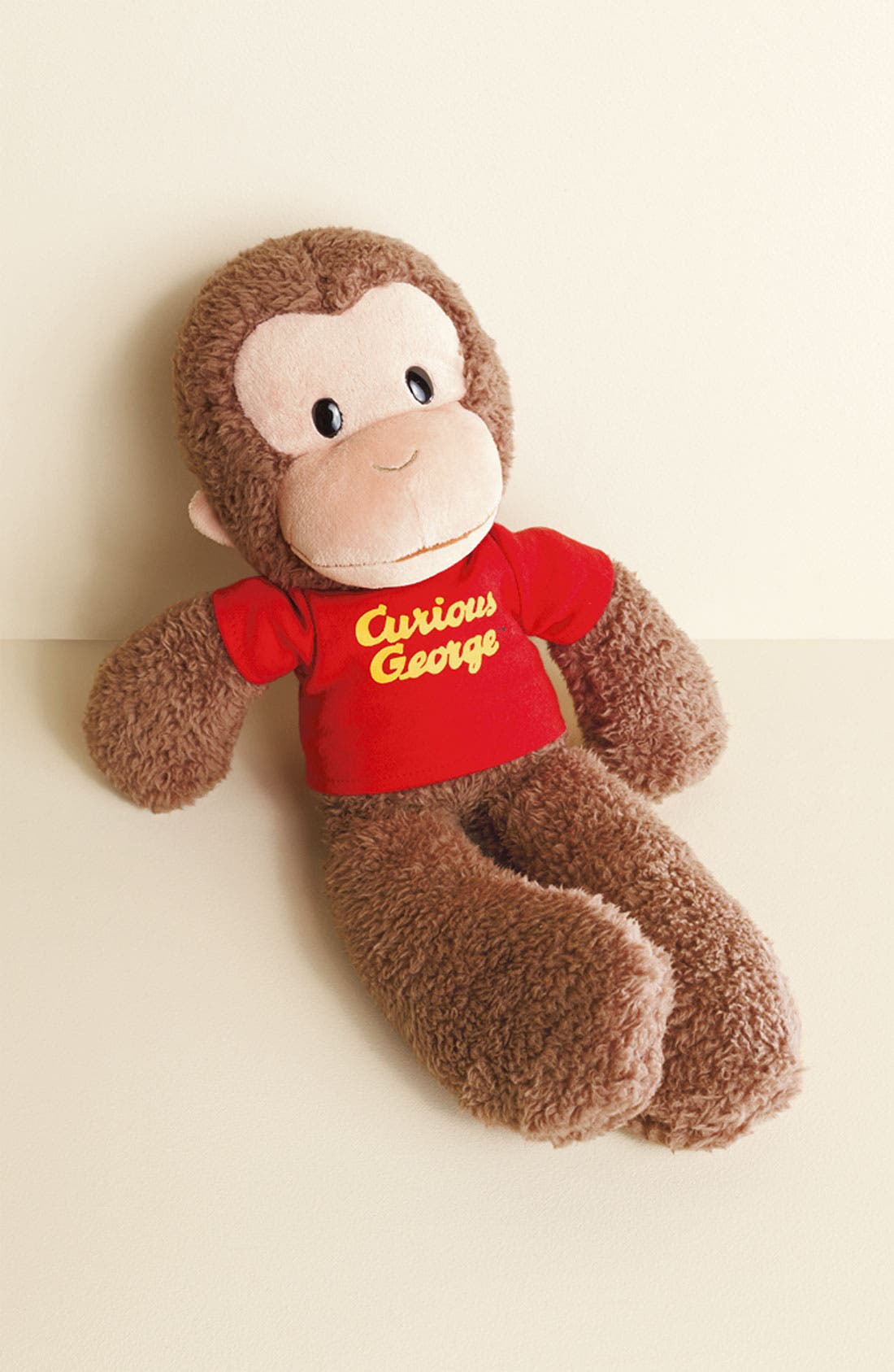 'Curious George<sup>®</sup>' Stuffed Animal,                             Alternate thumbnail 2, color,                             BROWN