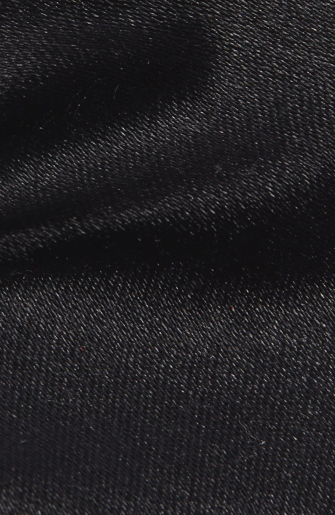 Silk Bow Tie,                             Alternate thumbnail 2, color,                             BLACK