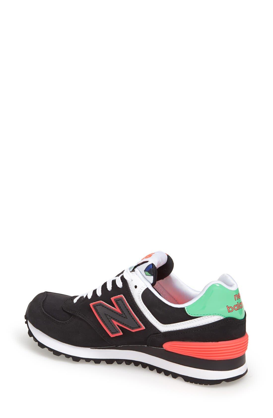 '574 Classic' Sneaker,                             Alternate thumbnail 2, color,                             001