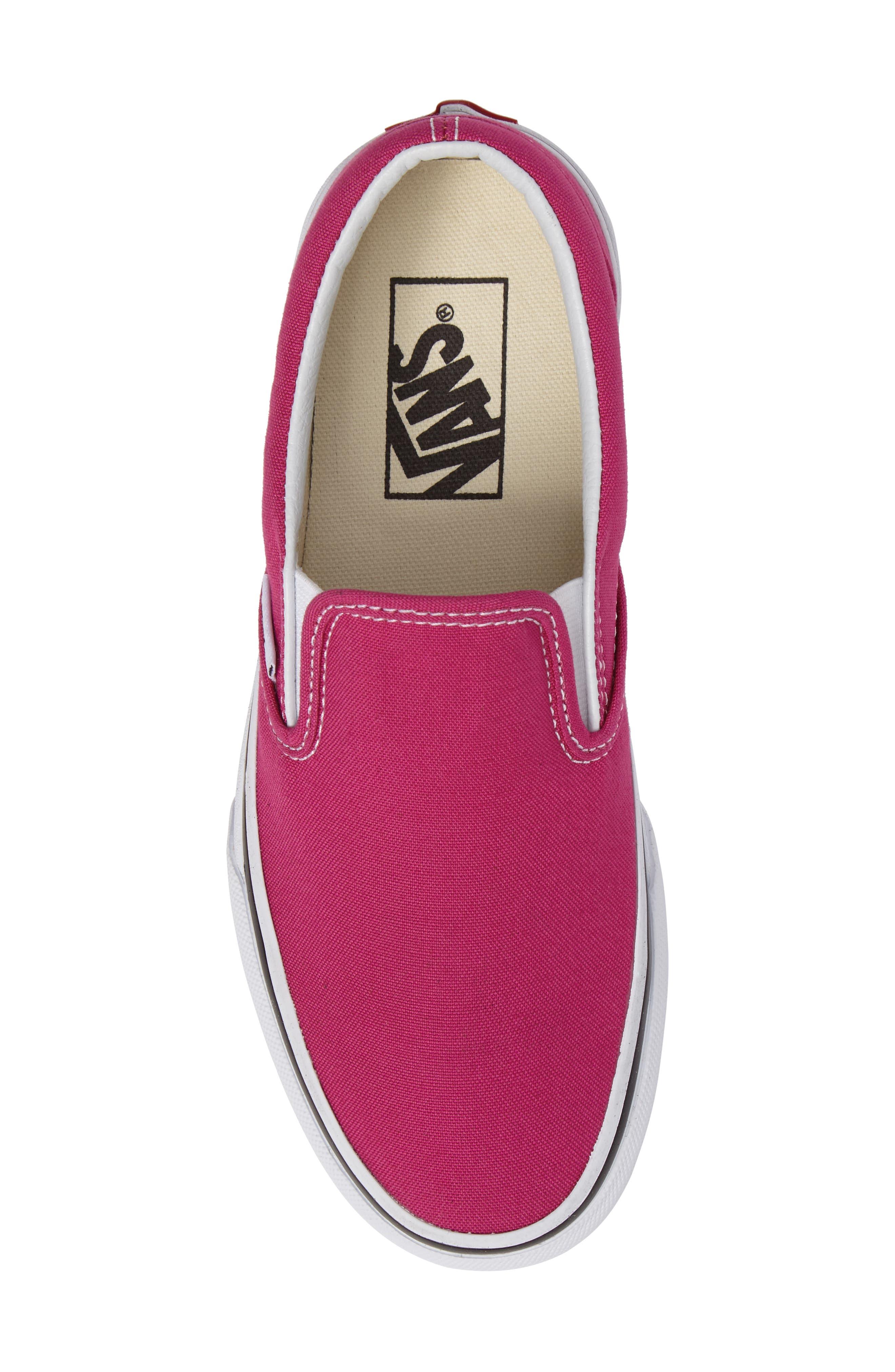 Classic Slip-On Sneaker,                             Alternate thumbnail 412, color,