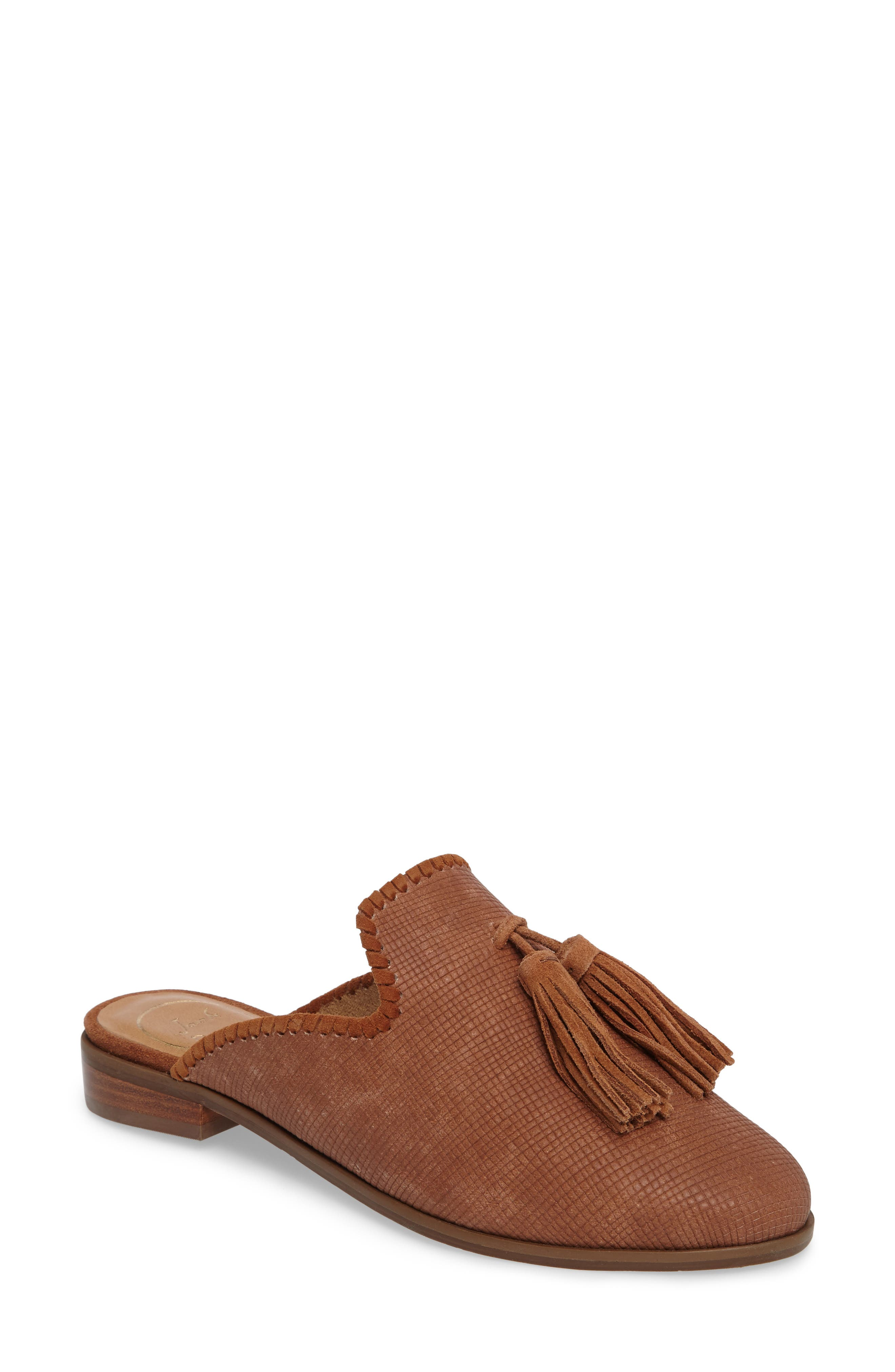 Delaney Tassel Mule,                             Main thumbnail 2, color,