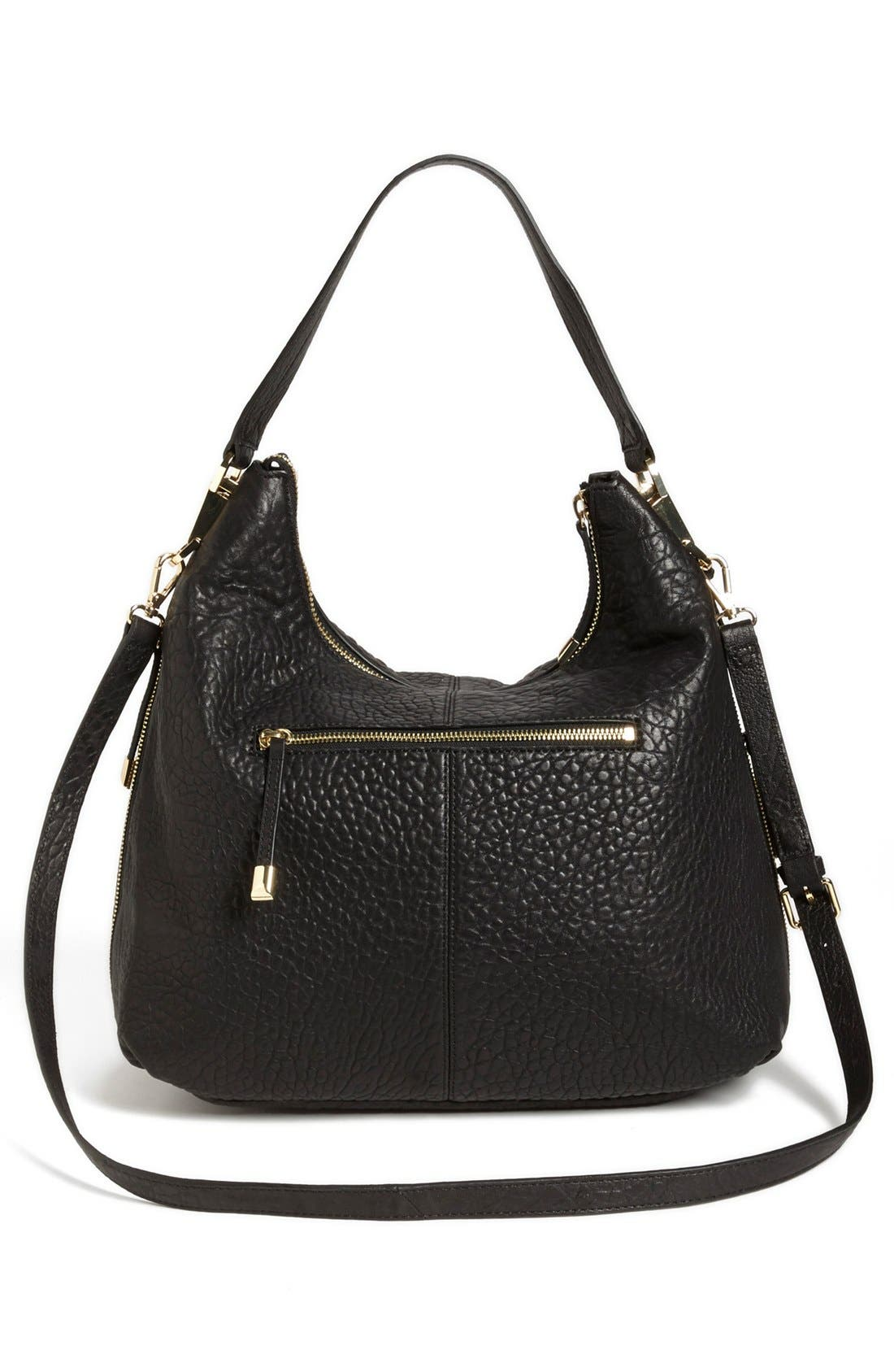 VINCE CAMUTO,                             'Riley' Hobo,                             Alternate thumbnail 4, color,                             001