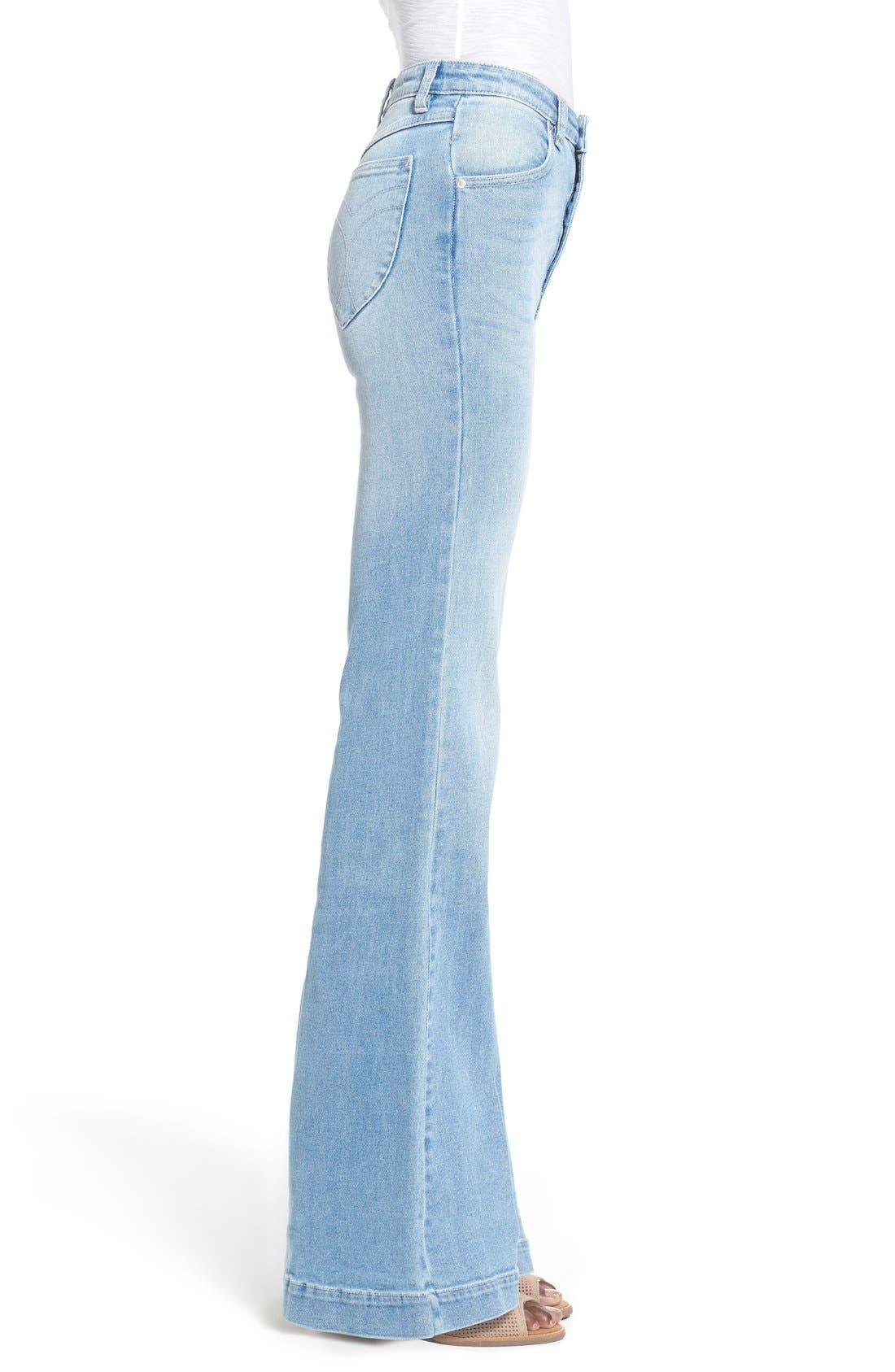 ROLLA'S,                             'East Coast' Flare Jeans,                             Alternate thumbnail 5, color,                             430