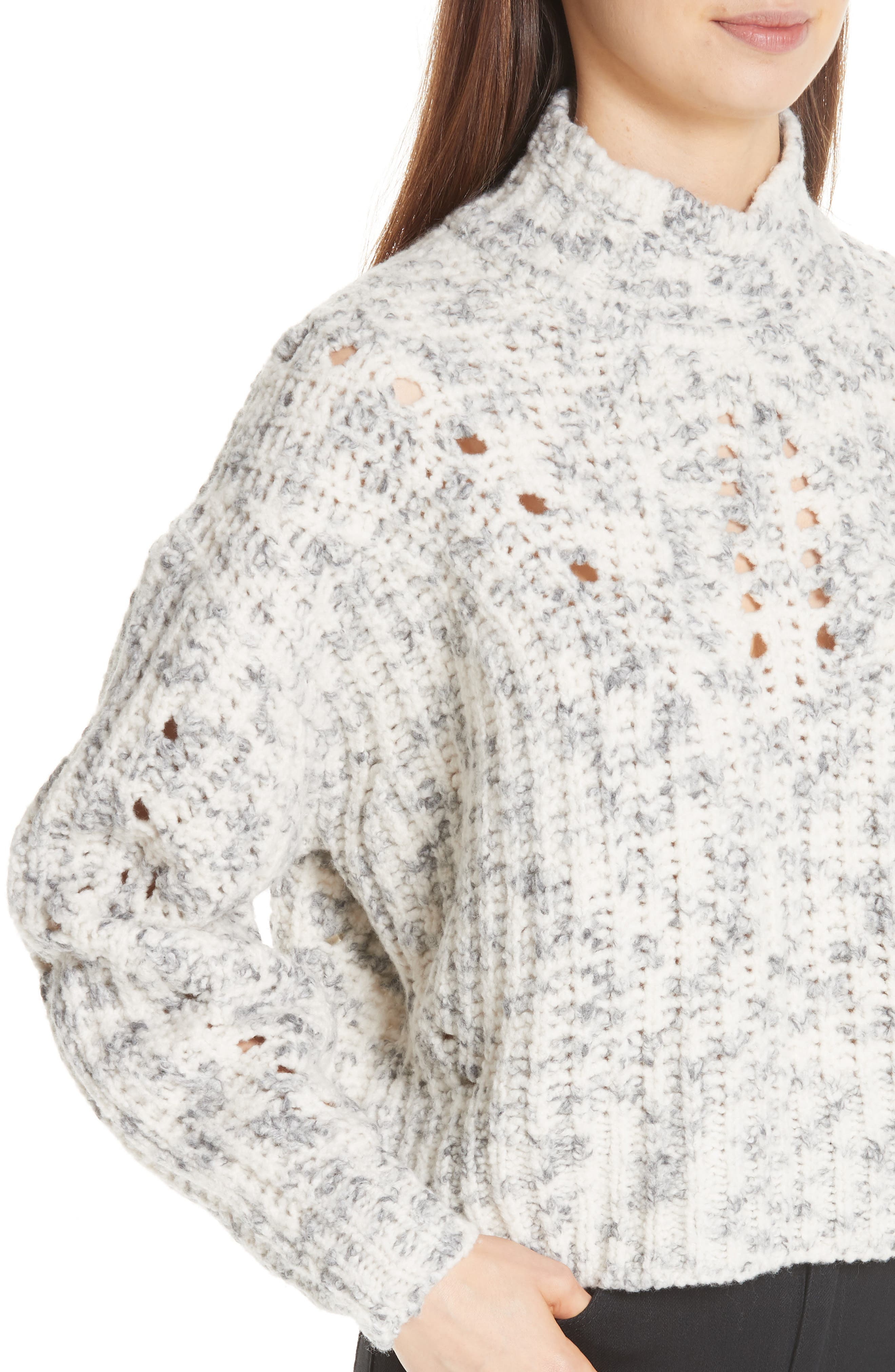 Jilly Wool Sweater,                             Alternate thumbnail 4, color,                             900