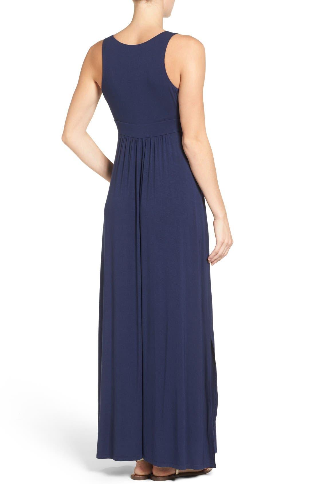Knit Maxi Dress,                             Alternate thumbnail 34, color,