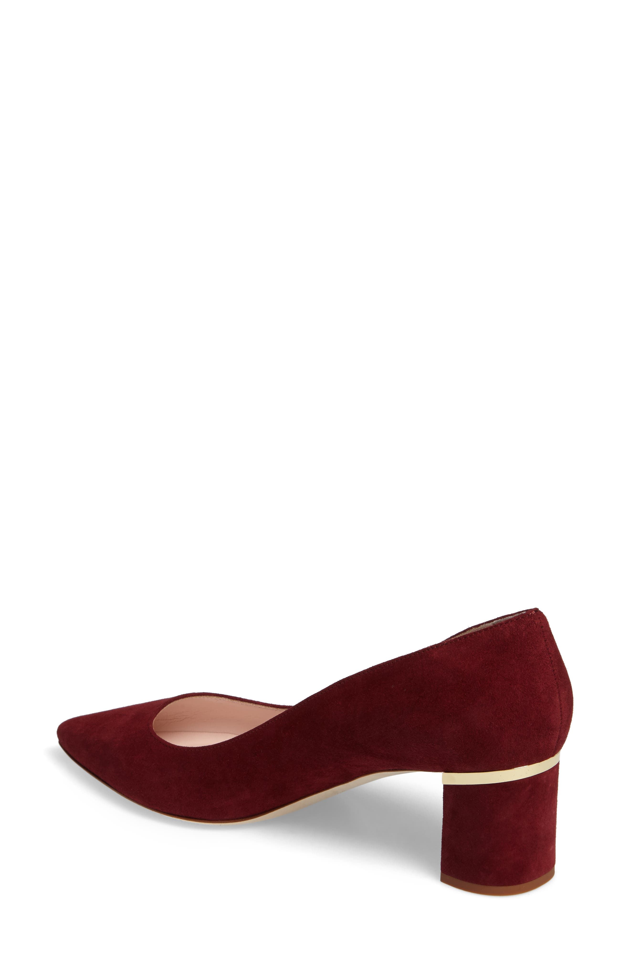'milan too' pointy toe pump,                             Alternate thumbnail 2, color,                             620