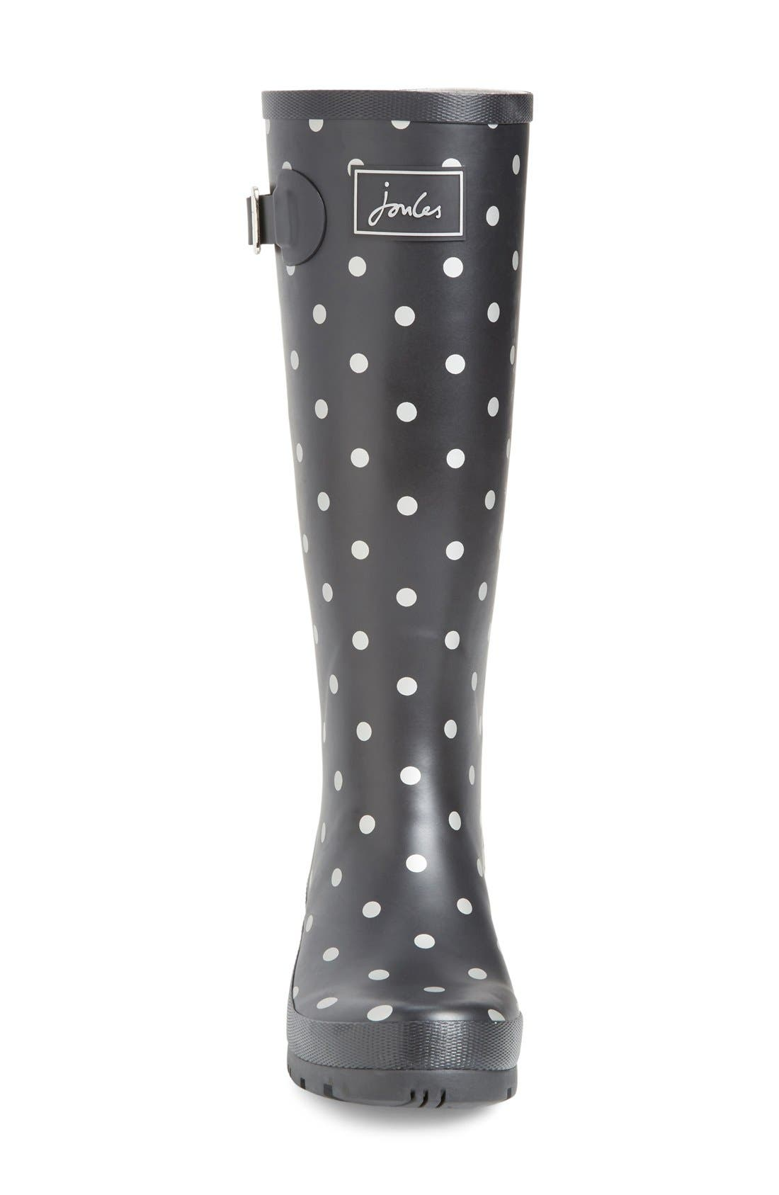 'Welly' Print Rain Boot,                             Alternate thumbnail 71, color,