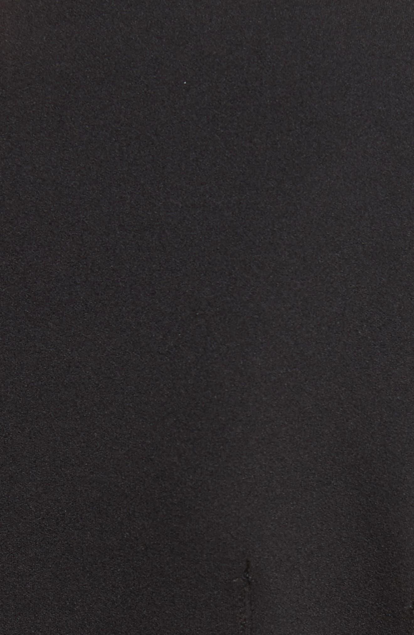 Stretch Crepe Corset Top,                             Alternate thumbnail 9, color,