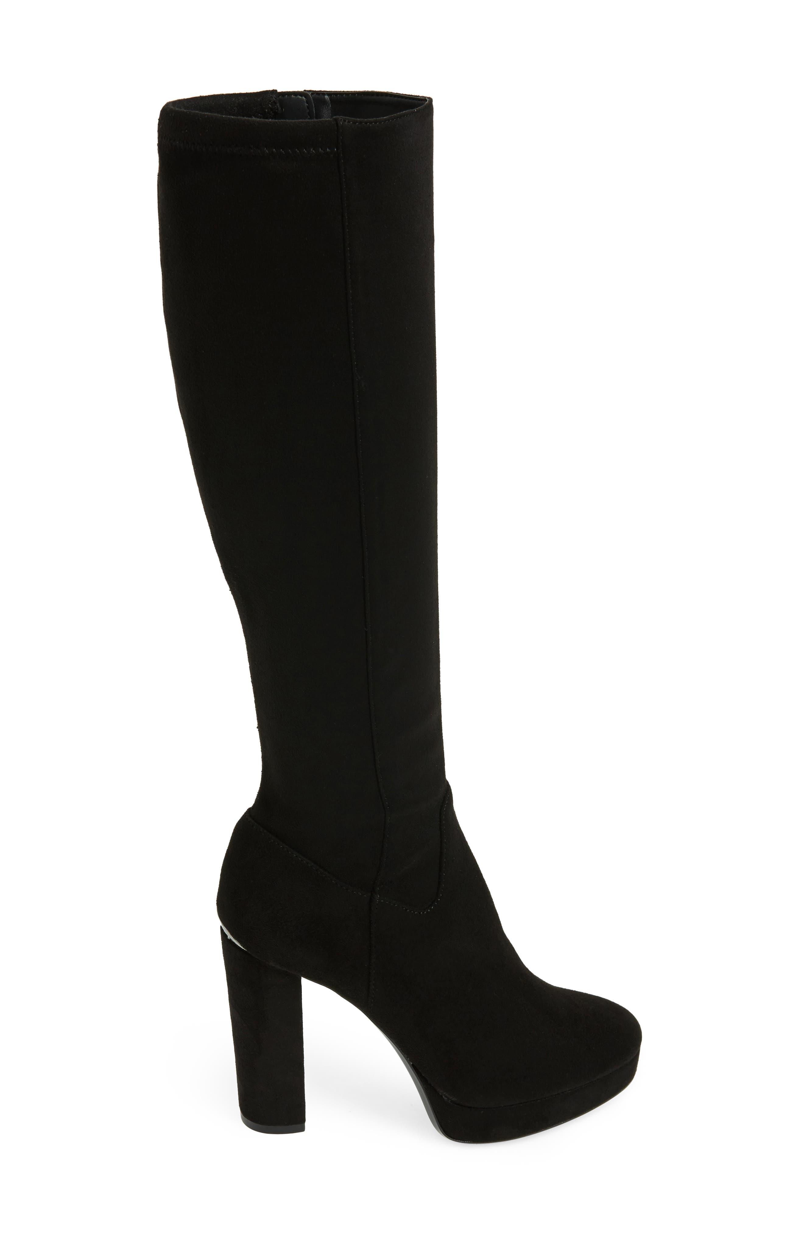Mailia Tall Boot,                             Alternate thumbnail 3, color,                             001