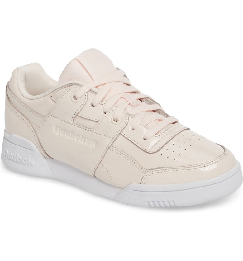 afc6524ce6df50 Reebok Workout Lo Plus Iridescent Sneaker (Women)