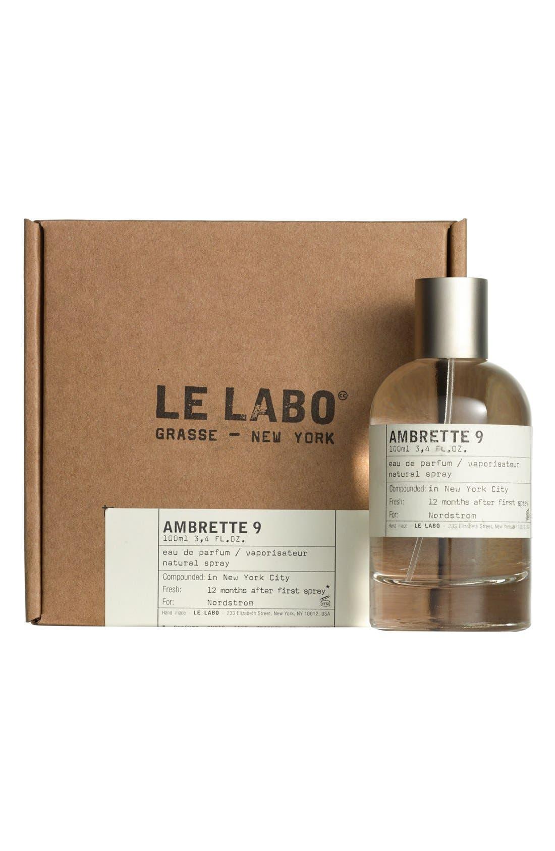 LE LABO,                             'Ambrette 9' Eau de Parfum,                             Alternate thumbnail 2, color,                             NO COLOR