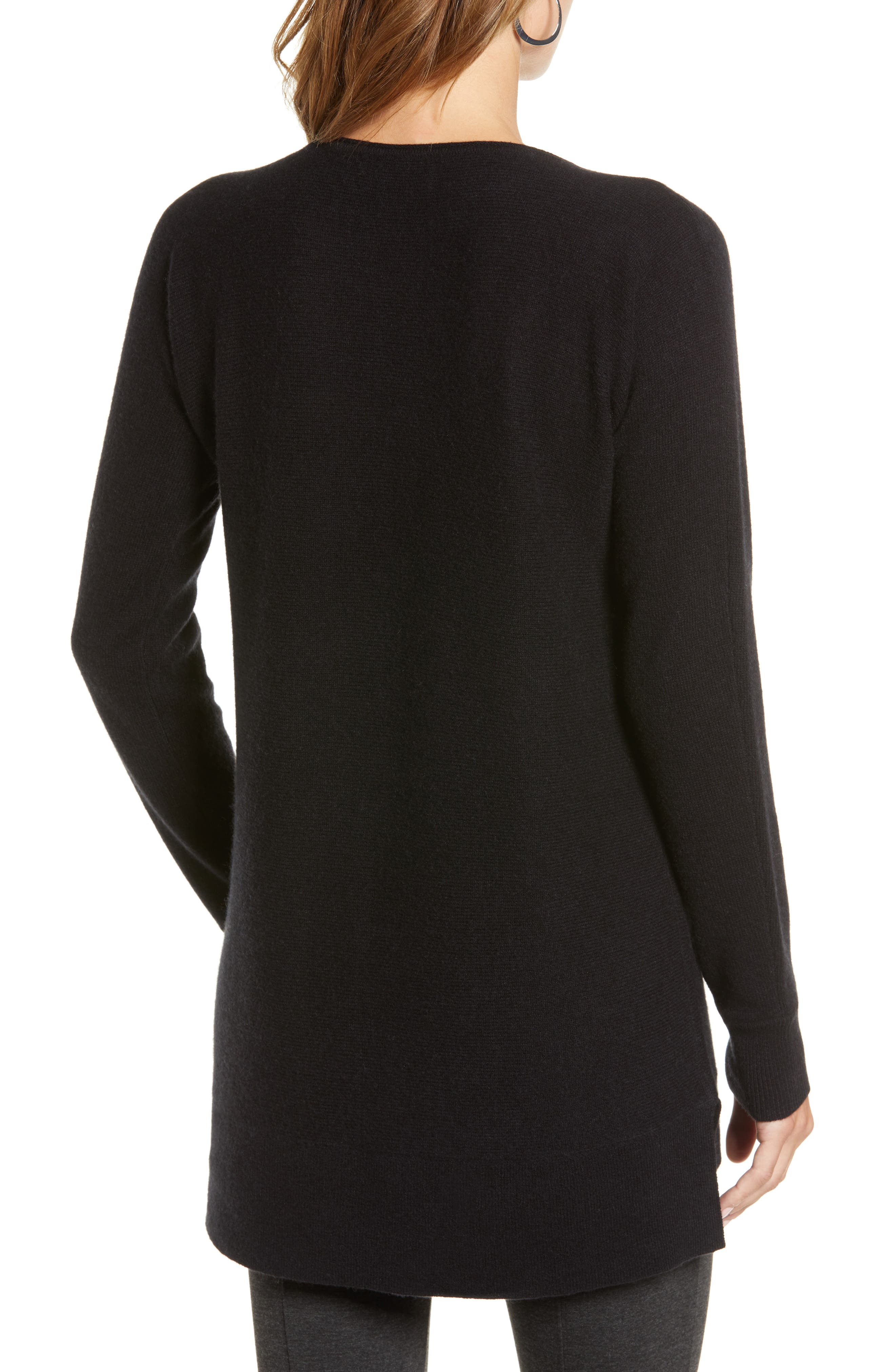 High/Low Wool & Cashmere Tunic Sweater,                             Alternate thumbnail 37, color,