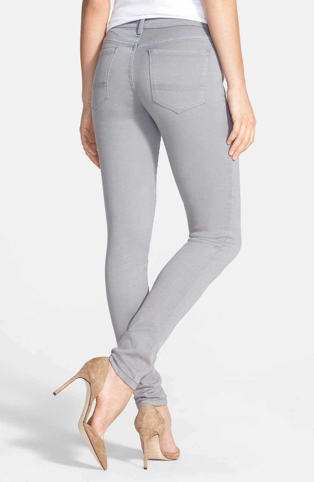 Alina Colored Stretch Skinny Jeans,                             Alternate thumbnail 40, color,
