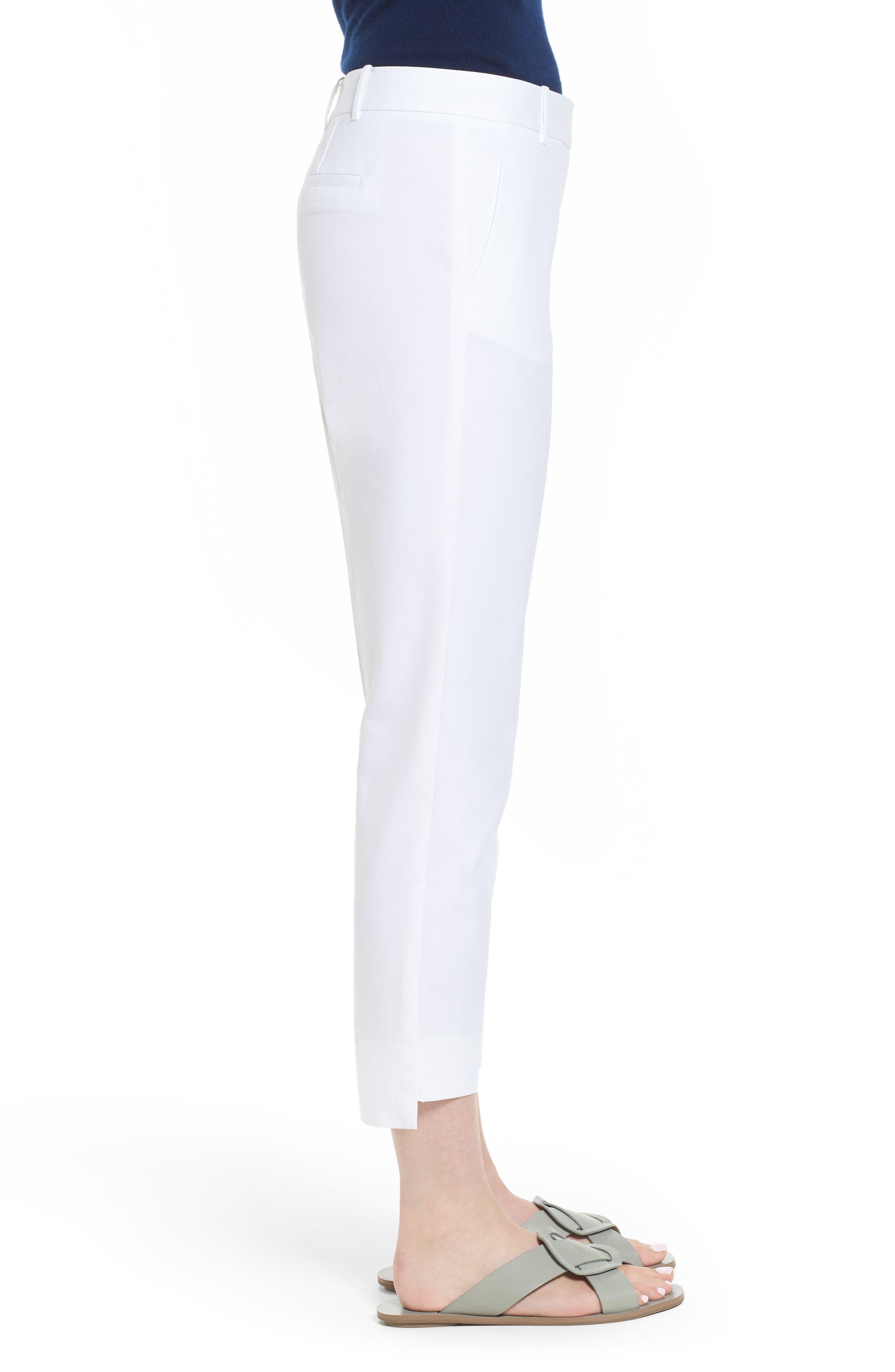 High/Low Crop Pants,                             Alternate thumbnail 6, color,