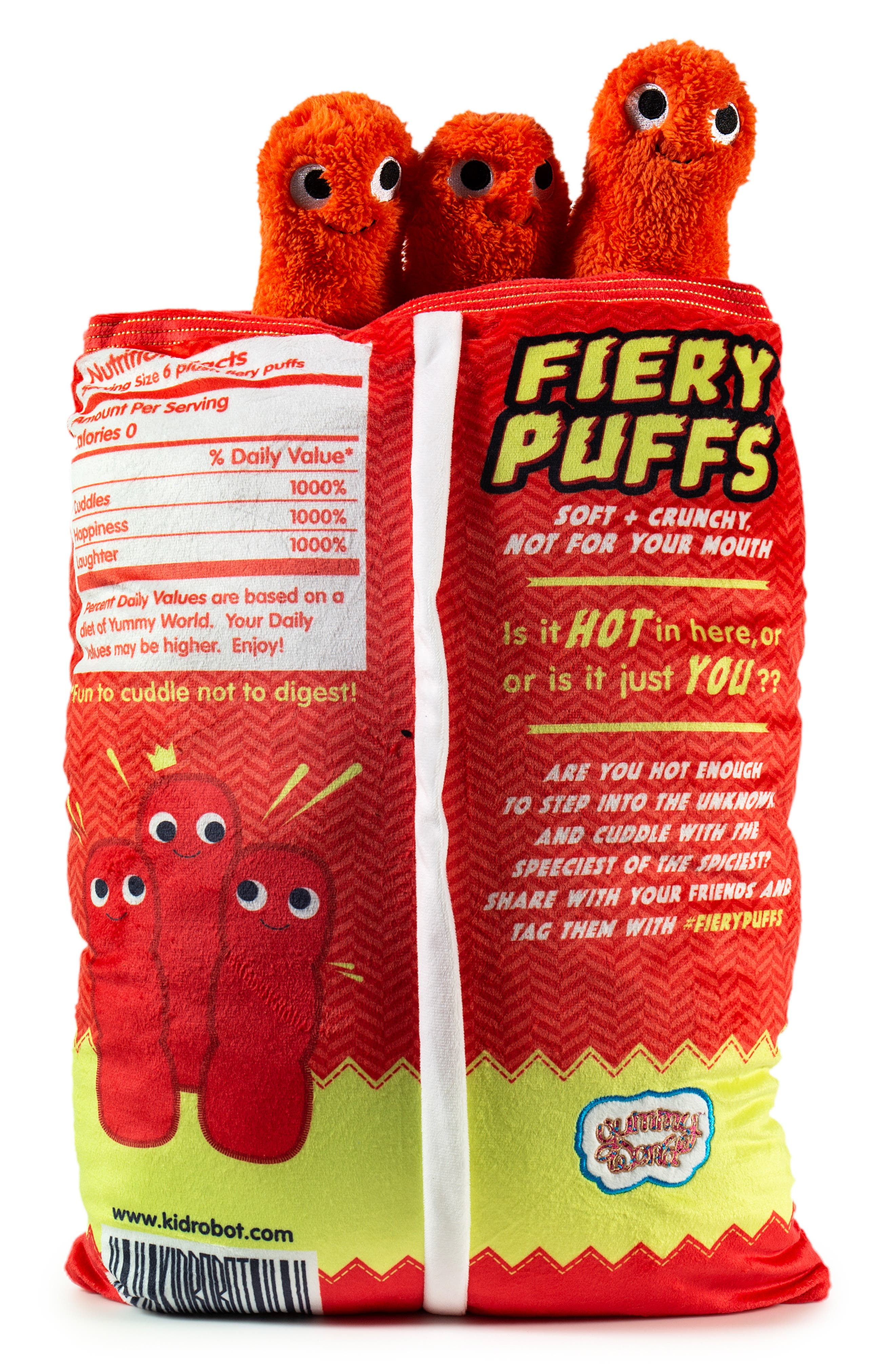Yummy World Extra Large Frye & The Fiery Puffs Plush Toy,                             Alternate thumbnail 2, color,                             960