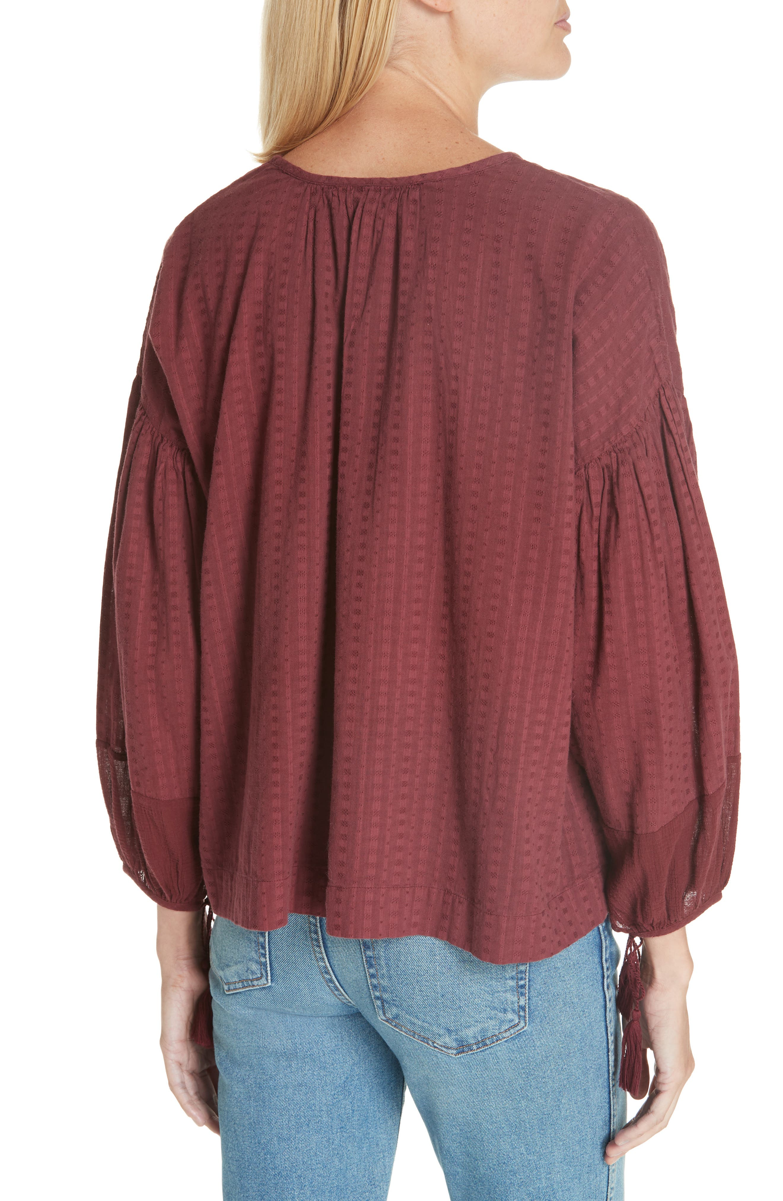 The Panel Tunic Top,                             Alternate thumbnail 2, color,                             930