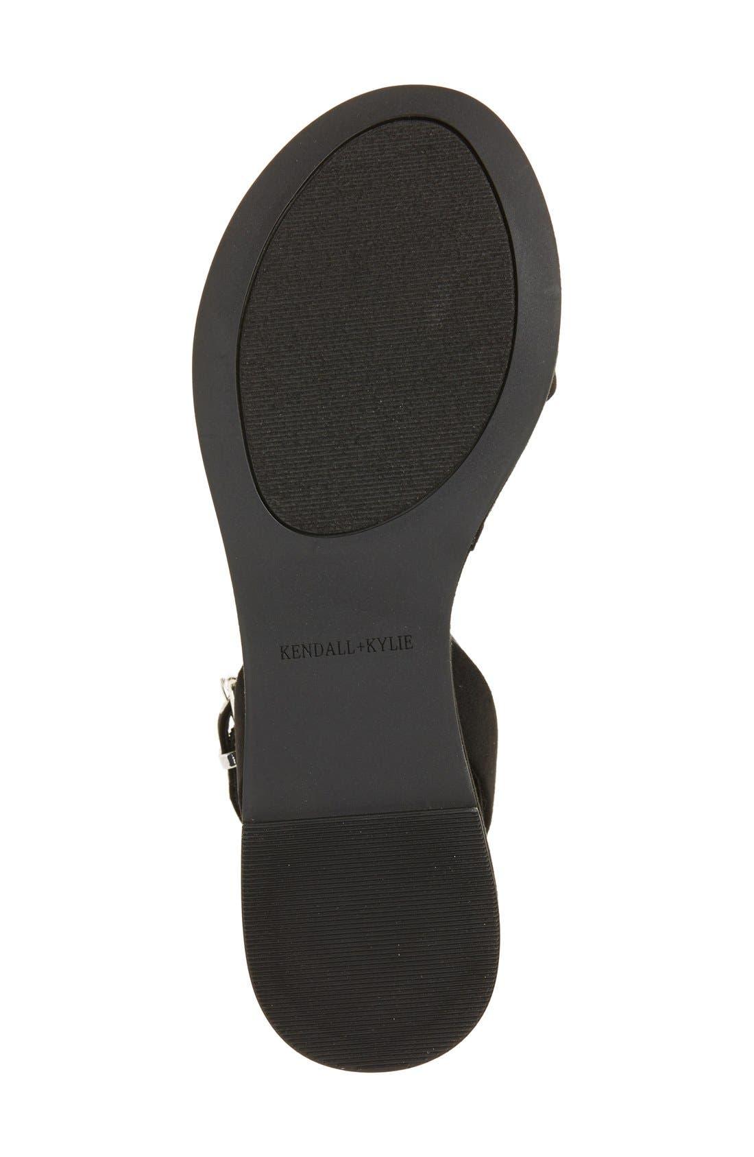'Demi' Platform Sandal,                             Alternate thumbnail 2, color,                             001