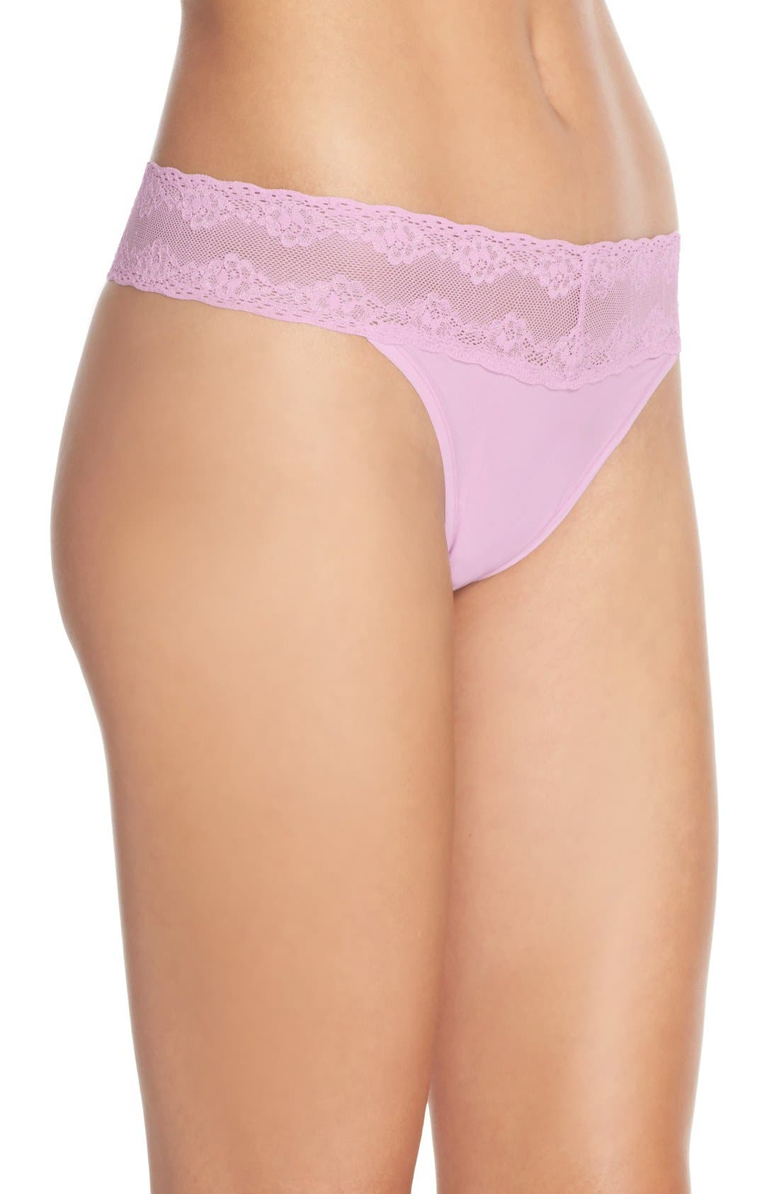 Bliss Perfection Thong,                             Alternate thumbnail 171, color,