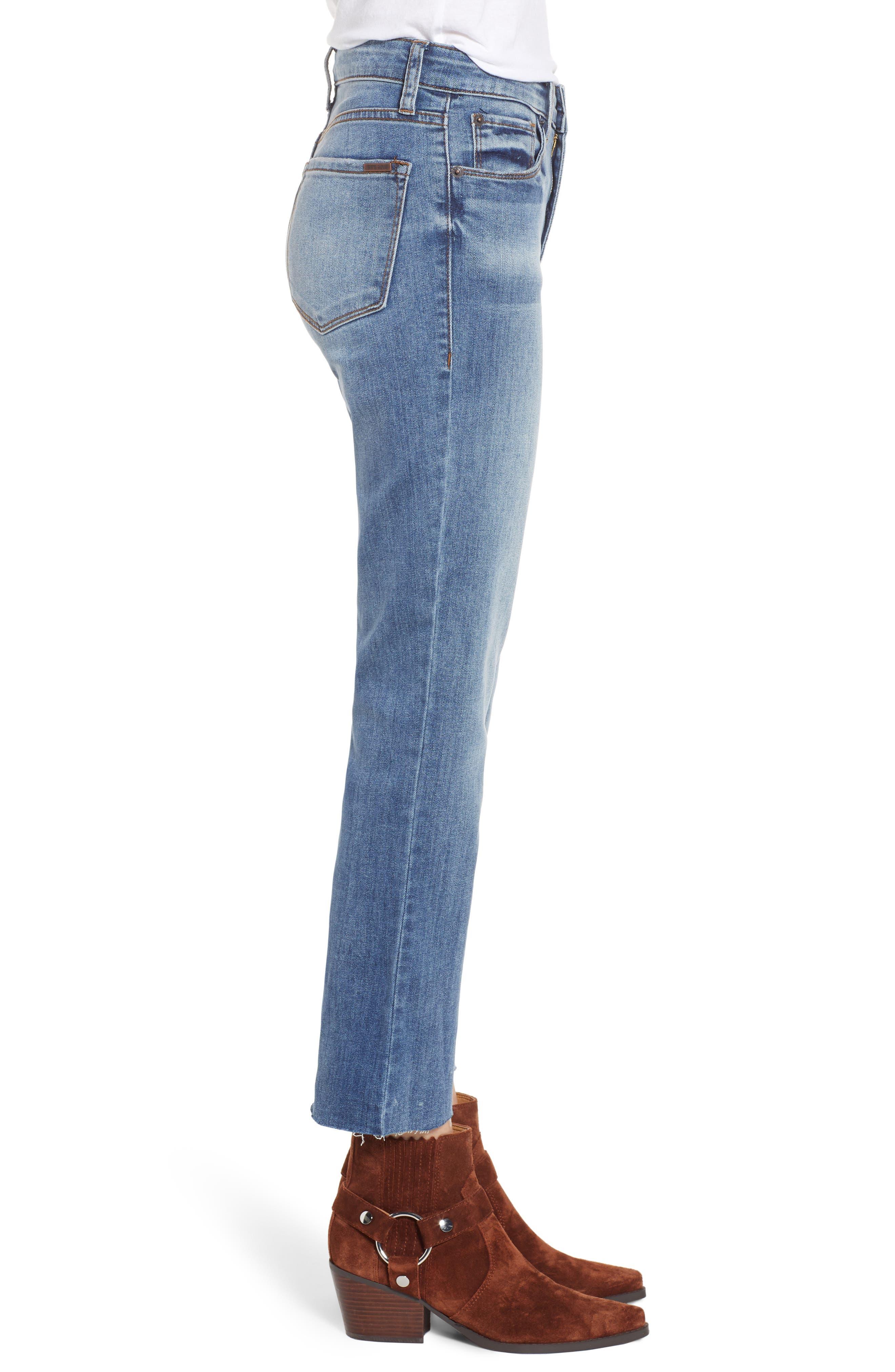 STS Blue Brooke Crop Flare Jeans,                             Alternate thumbnail 3, color,                             TOPAZ