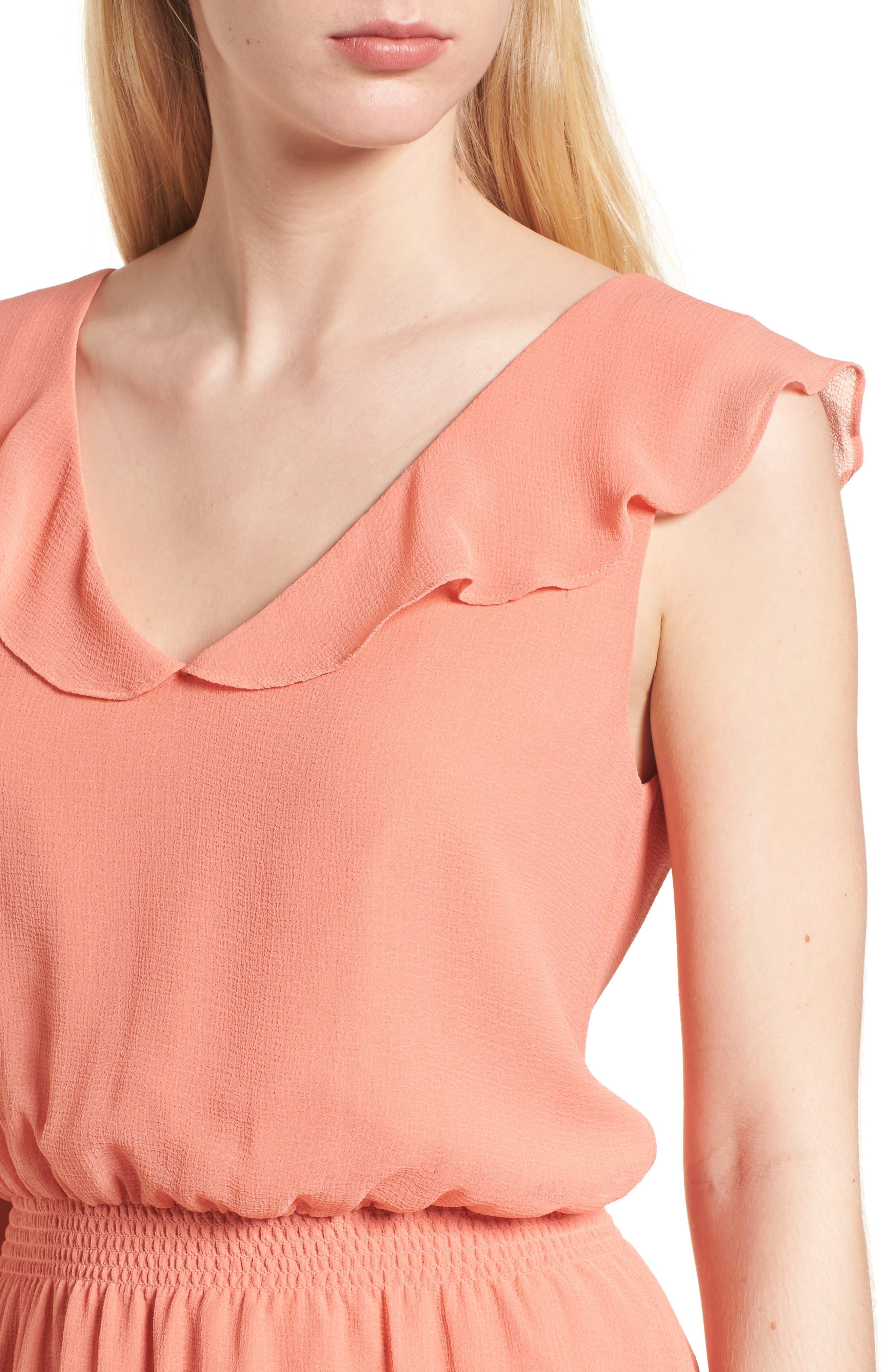 Iniko Blouson Dress,                             Alternate thumbnail 4, color,                             950