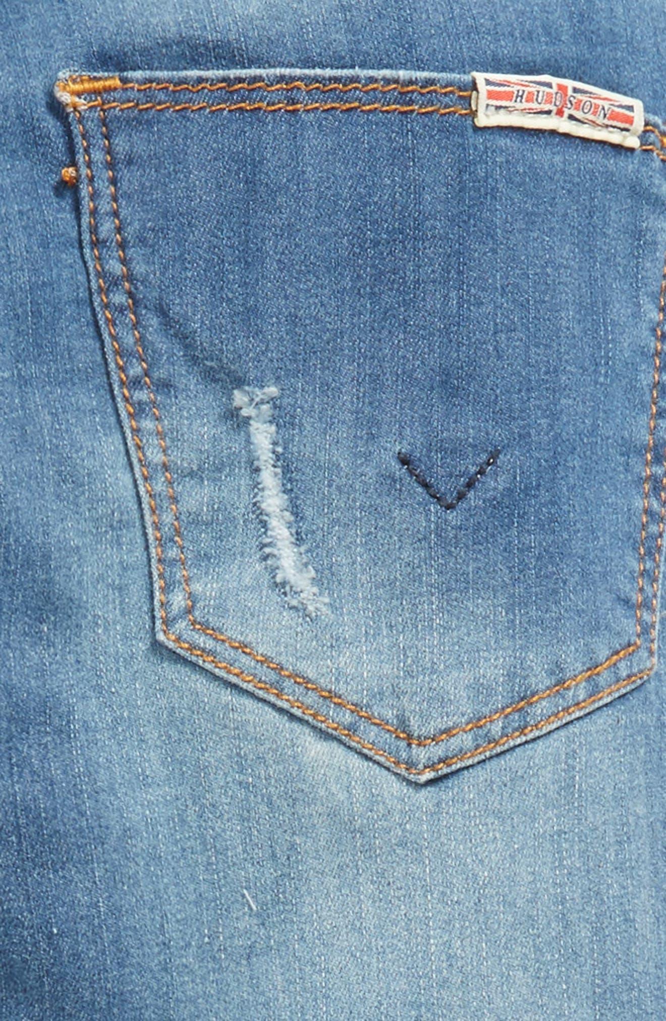 Jessa Crop Skinny Jeans,                             Alternate thumbnail 3, color,                             499