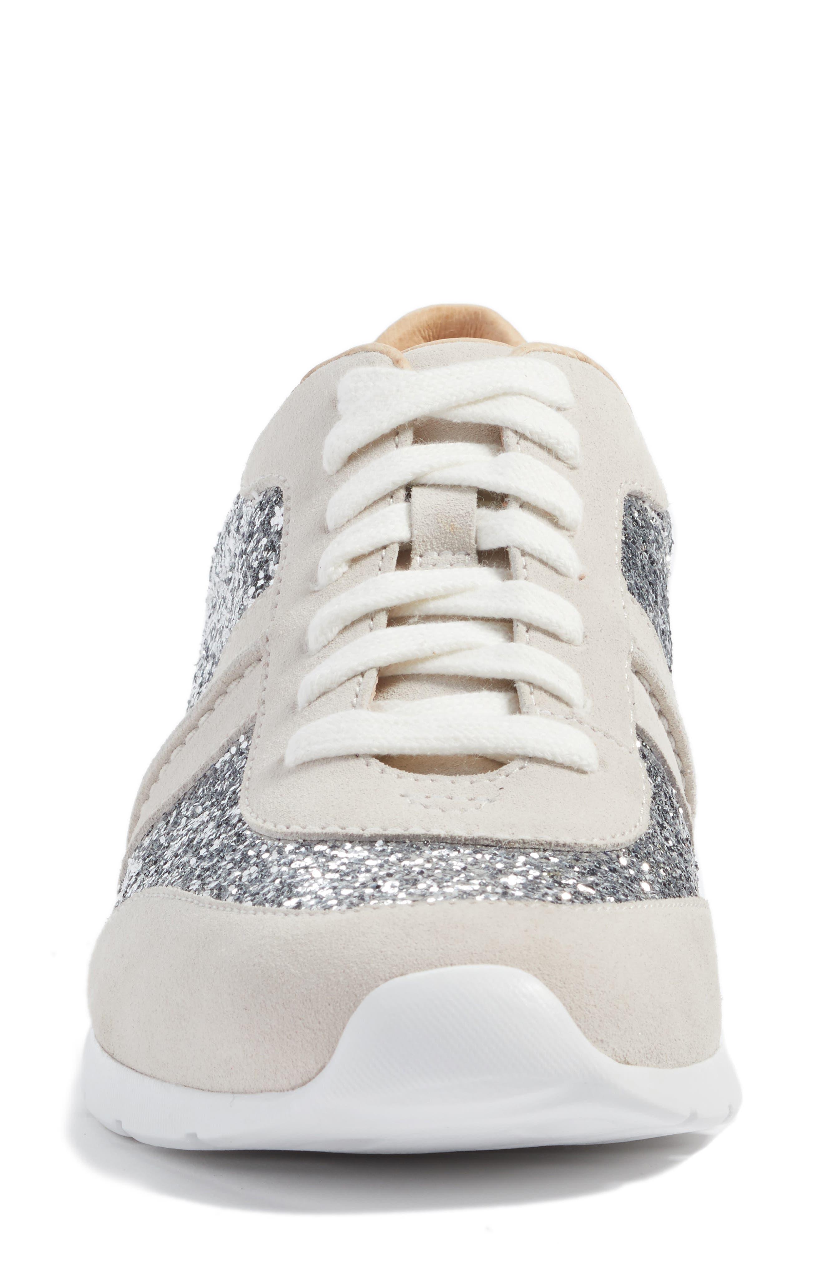Jaida Glitter Sneaker,                             Alternate thumbnail 4, color,                             040