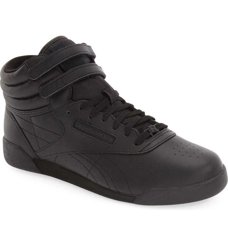 Reebok  Freestyle Hi  Sneaker (Big Kid)  8c40a42ec