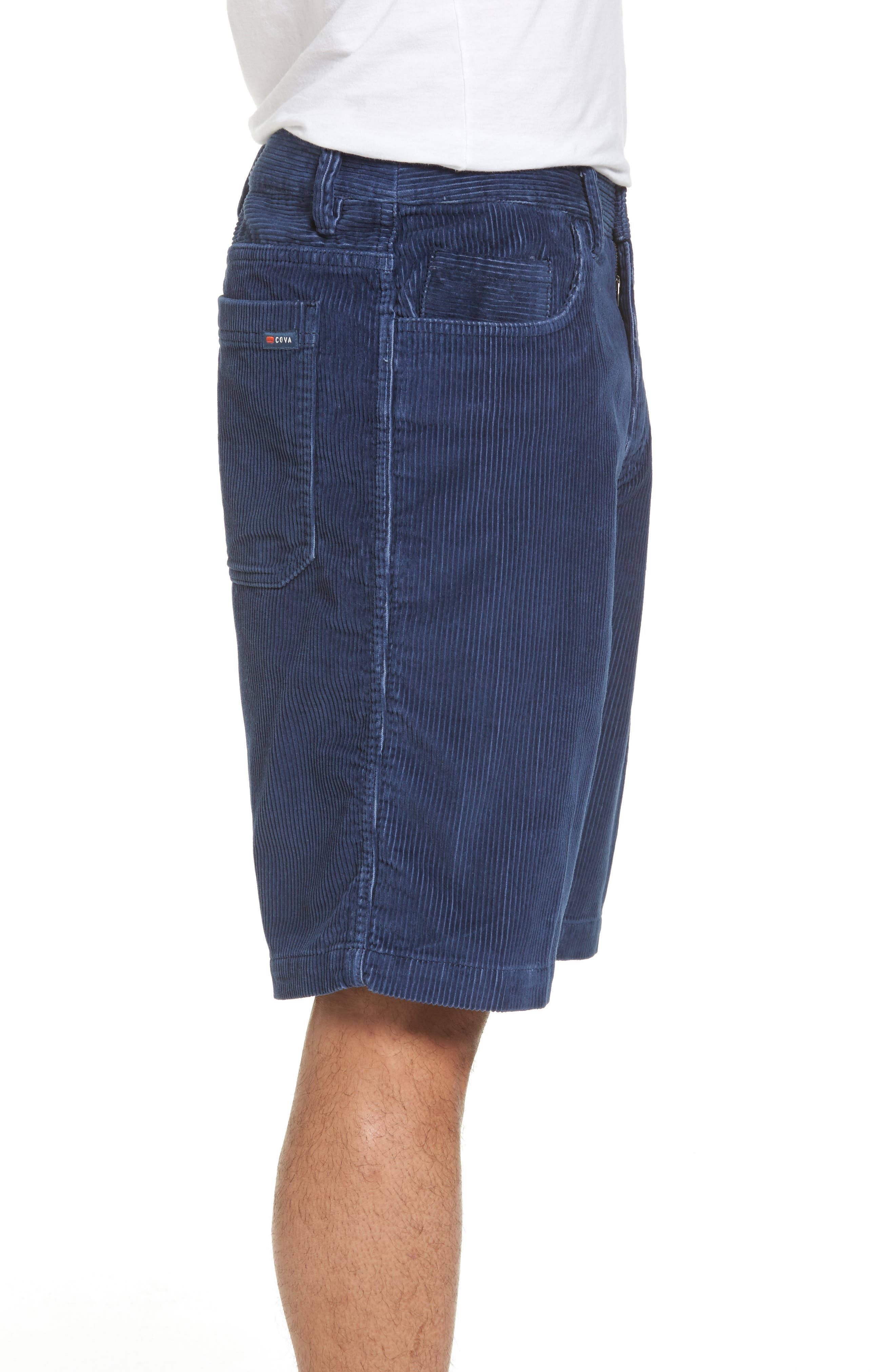 Kordo Corduroy Walking Shorts,                             Alternate thumbnail 3, color,                             410