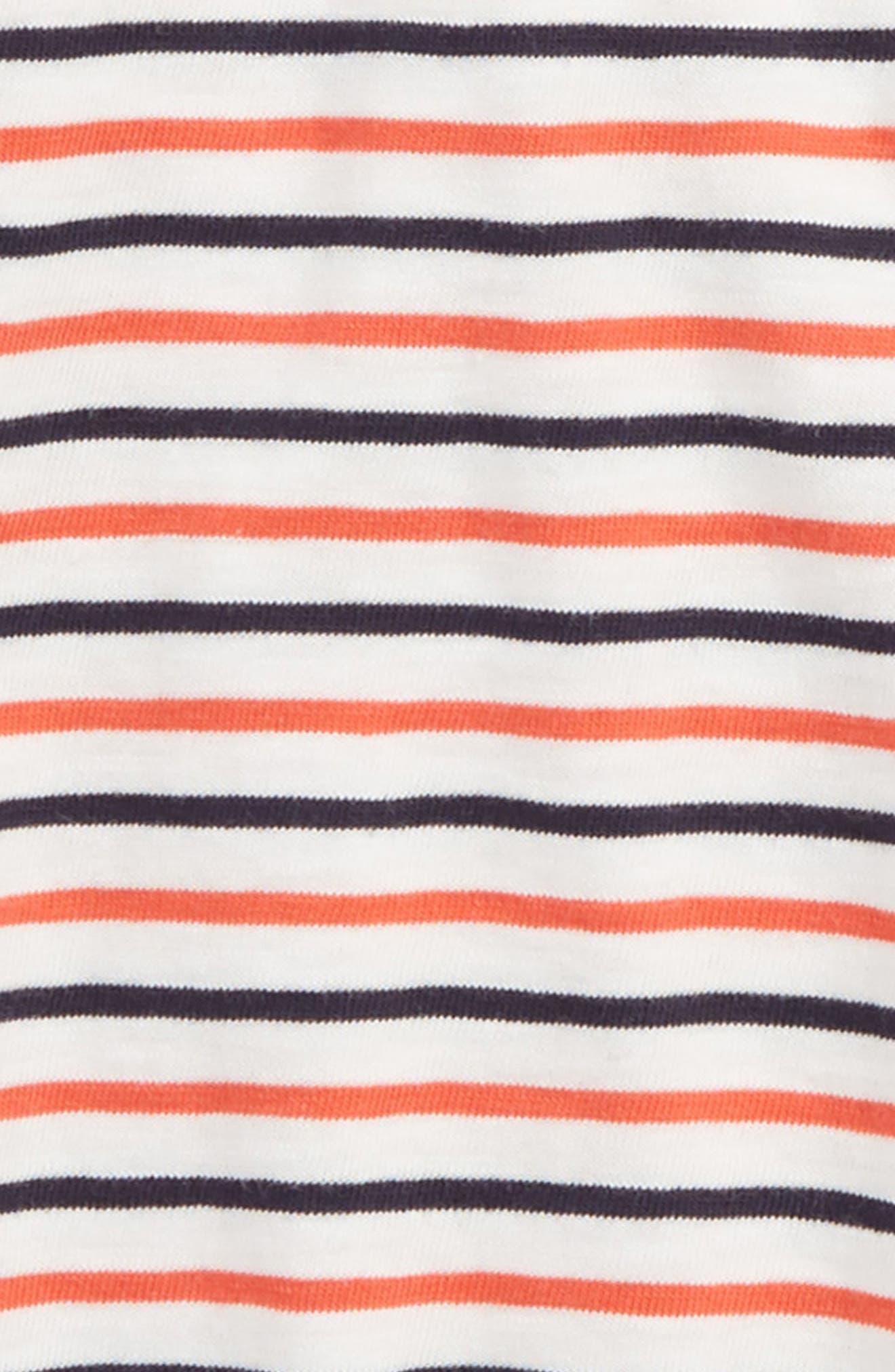 Stripe Polo Shirt,                             Alternate thumbnail 2, color,                             SUNSET MULTI