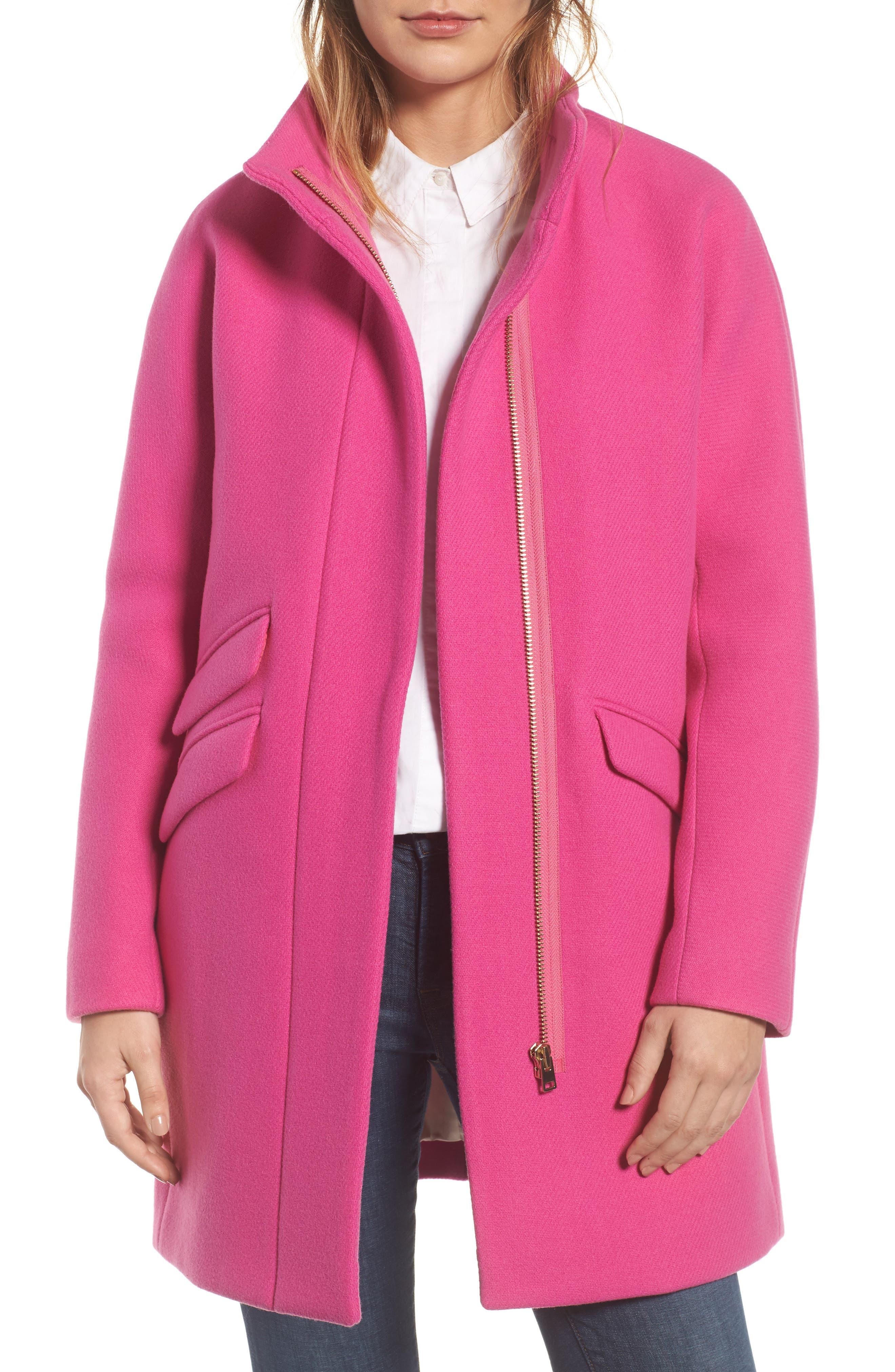 Stadium Cloth Cocoon Coat,                             Main thumbnail 9, color,