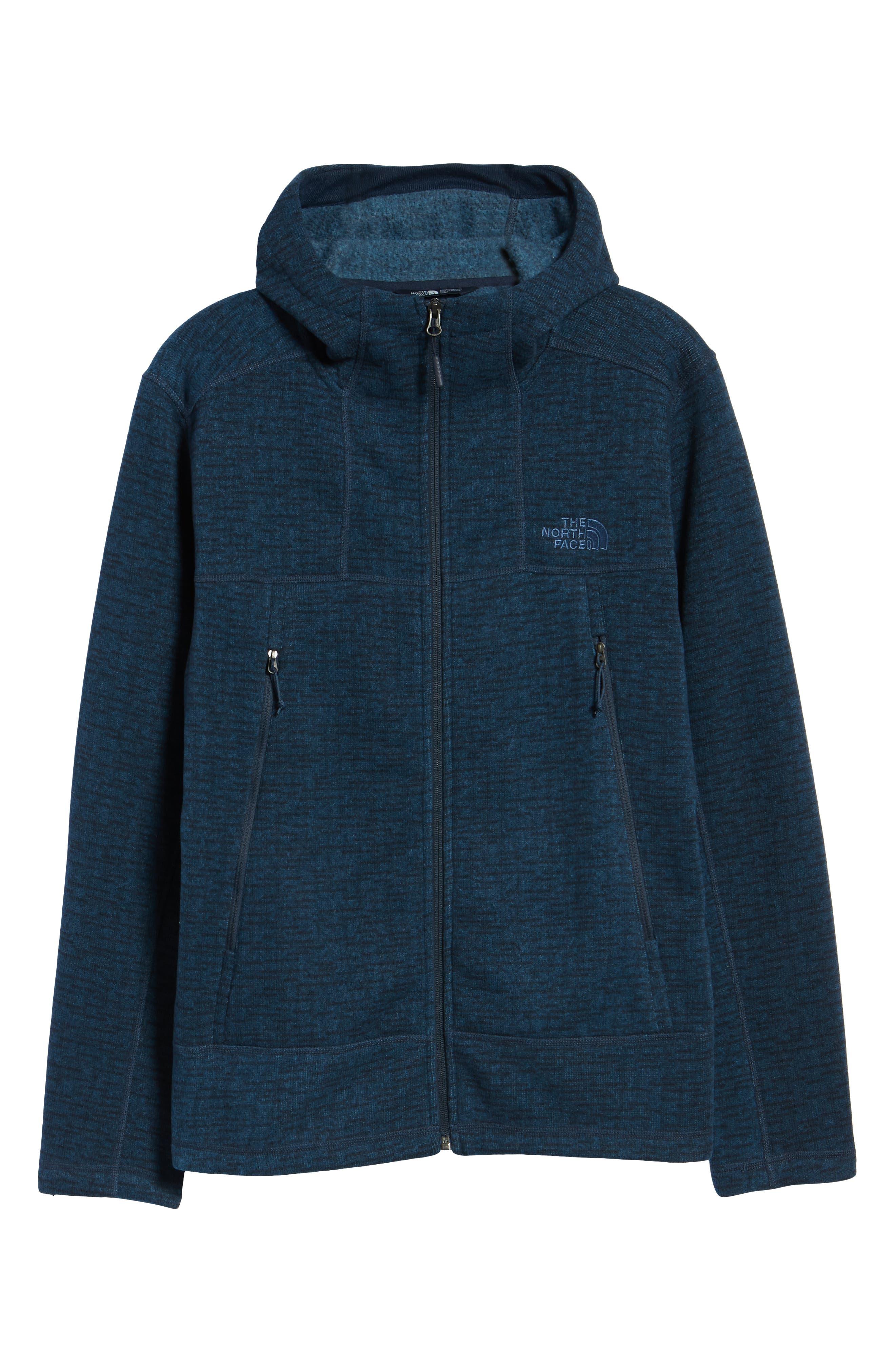 Gordon Lyons Alpine Sweater Fleece Hoodie,                             Alternate thumbnail 7, color,                             URBAN NAVY