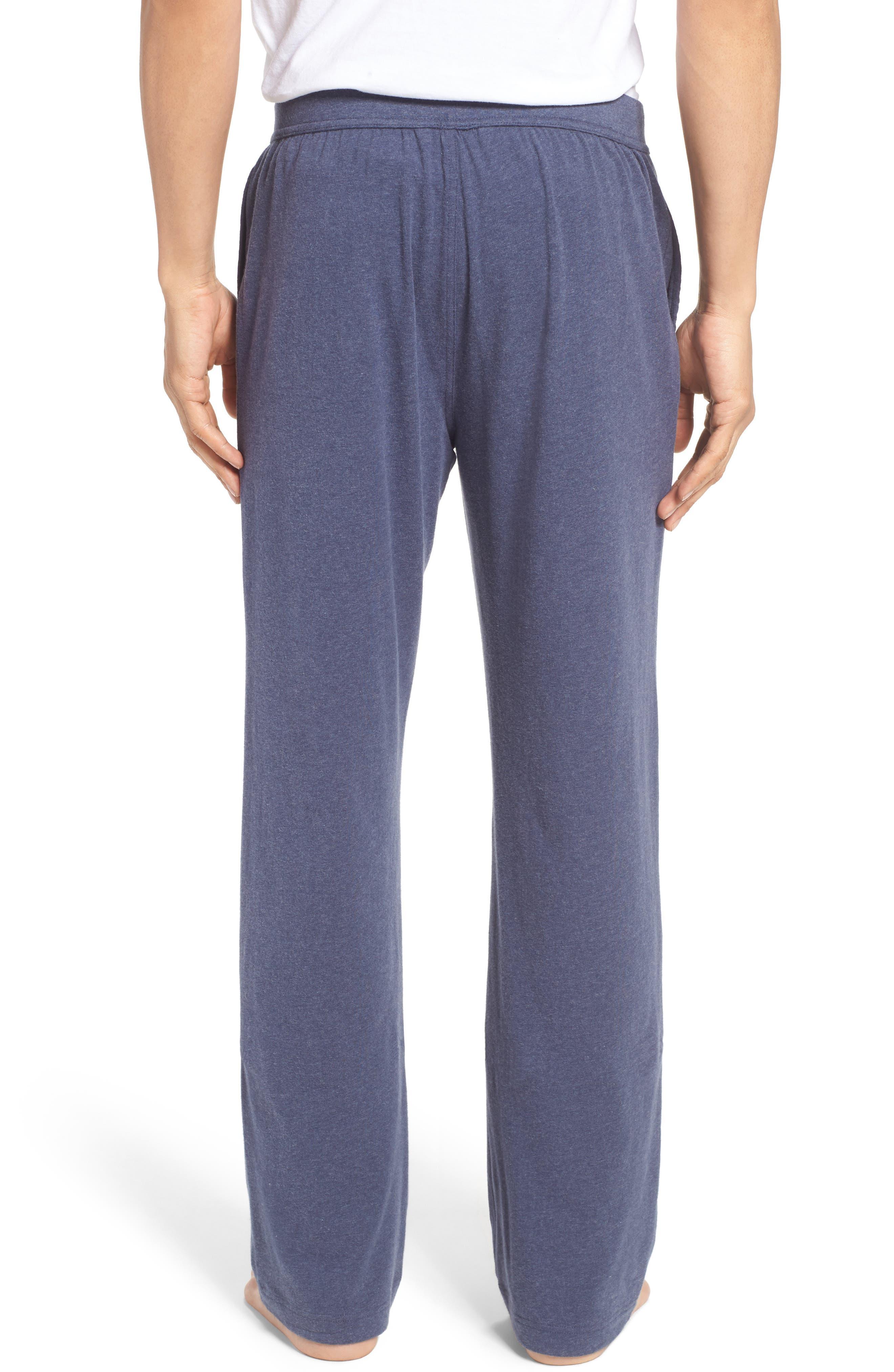 Stretch Cotton Lounge Pants,                             Alternate thumbnail 4, color,