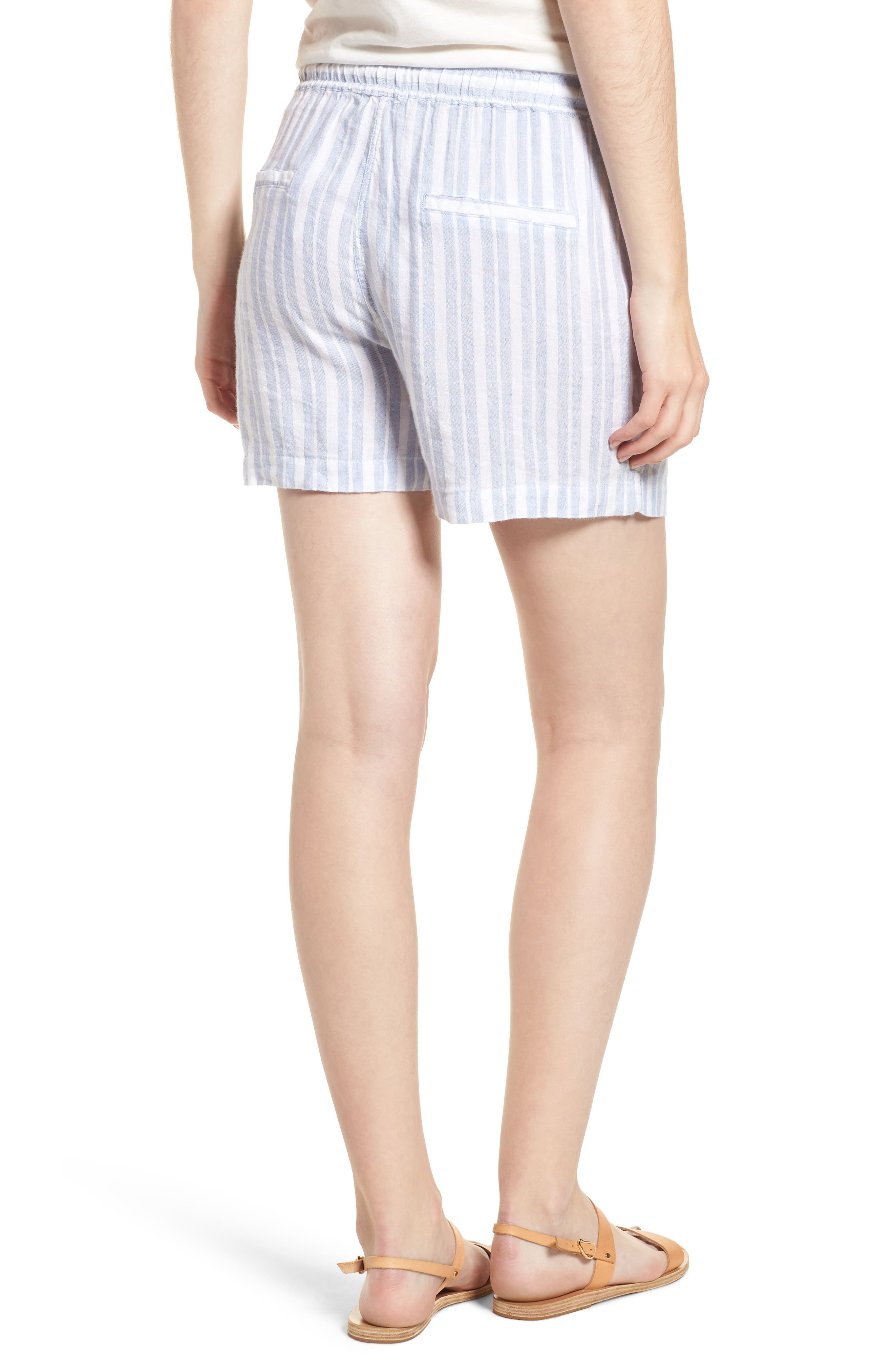 Brea Shorts,                             Alternate thumbnail 2, color,                             HOLLAND STRIPE
