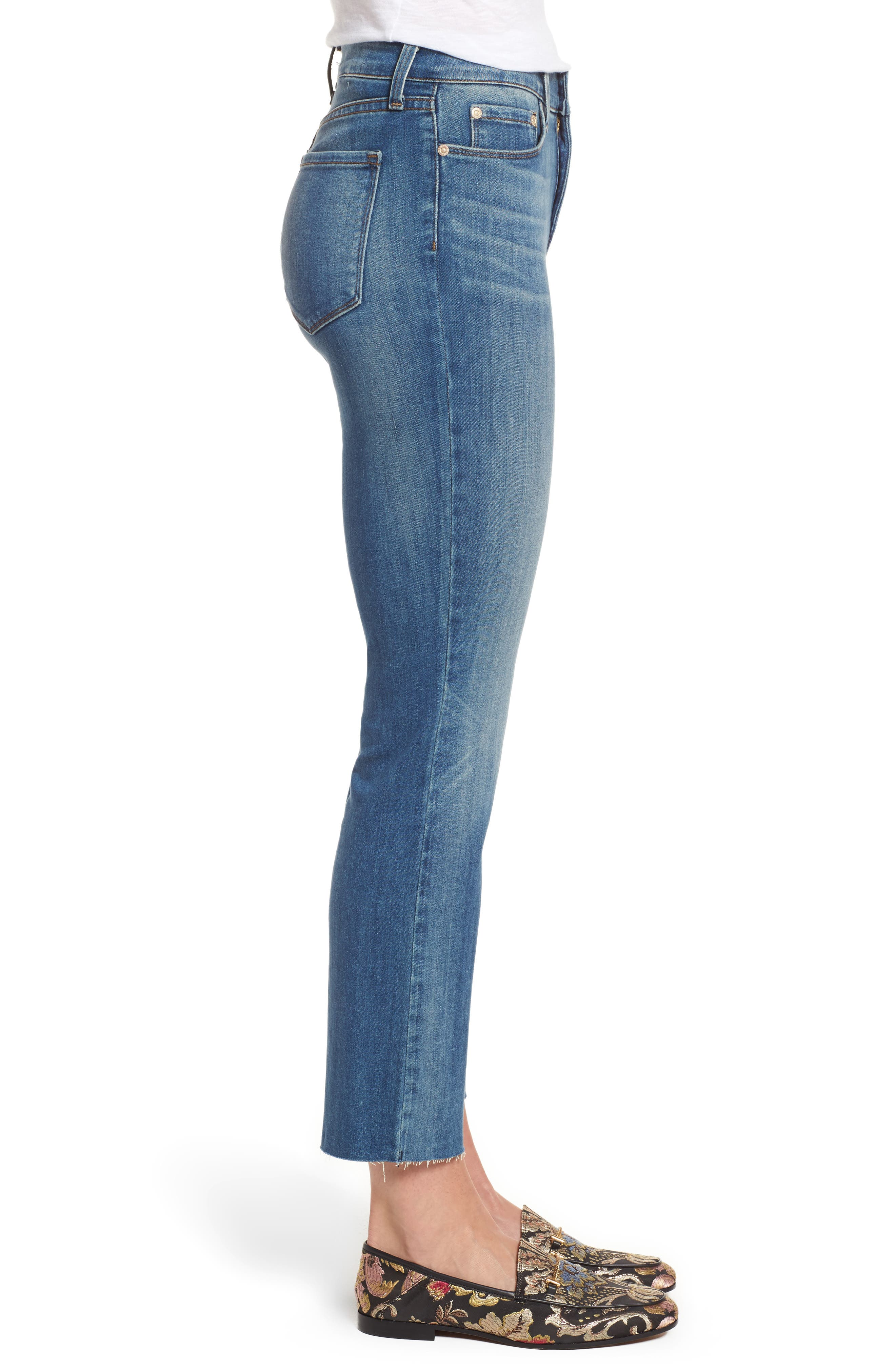 Marilyn Ankle Skinny Jeans,                             Alternate thumbnail 3, color,                             417