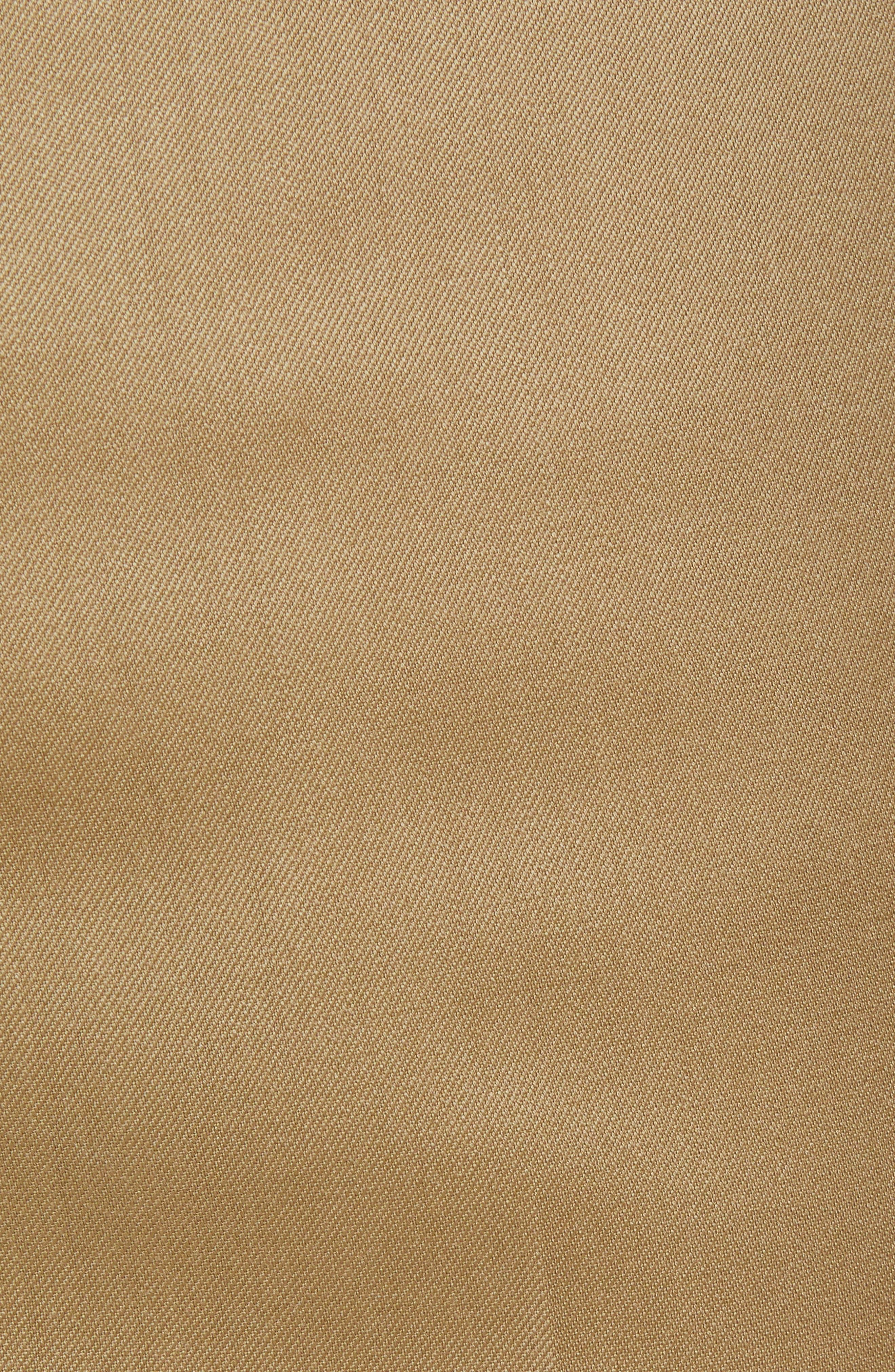Torino Flat Front Wool Gabardine Trousers,                             Alternate thumbnail 28, color,