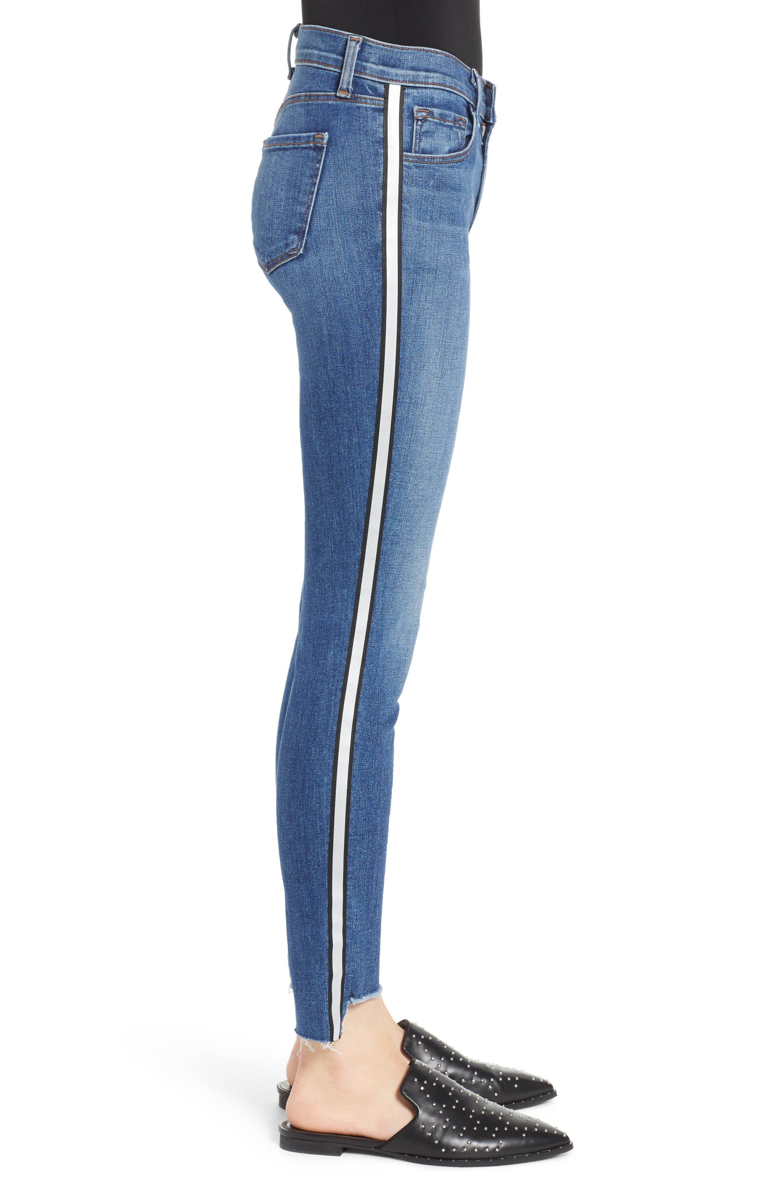 811 Skinny Jeans,                             Alternate thumbnail 3, color,                             REFLECTING