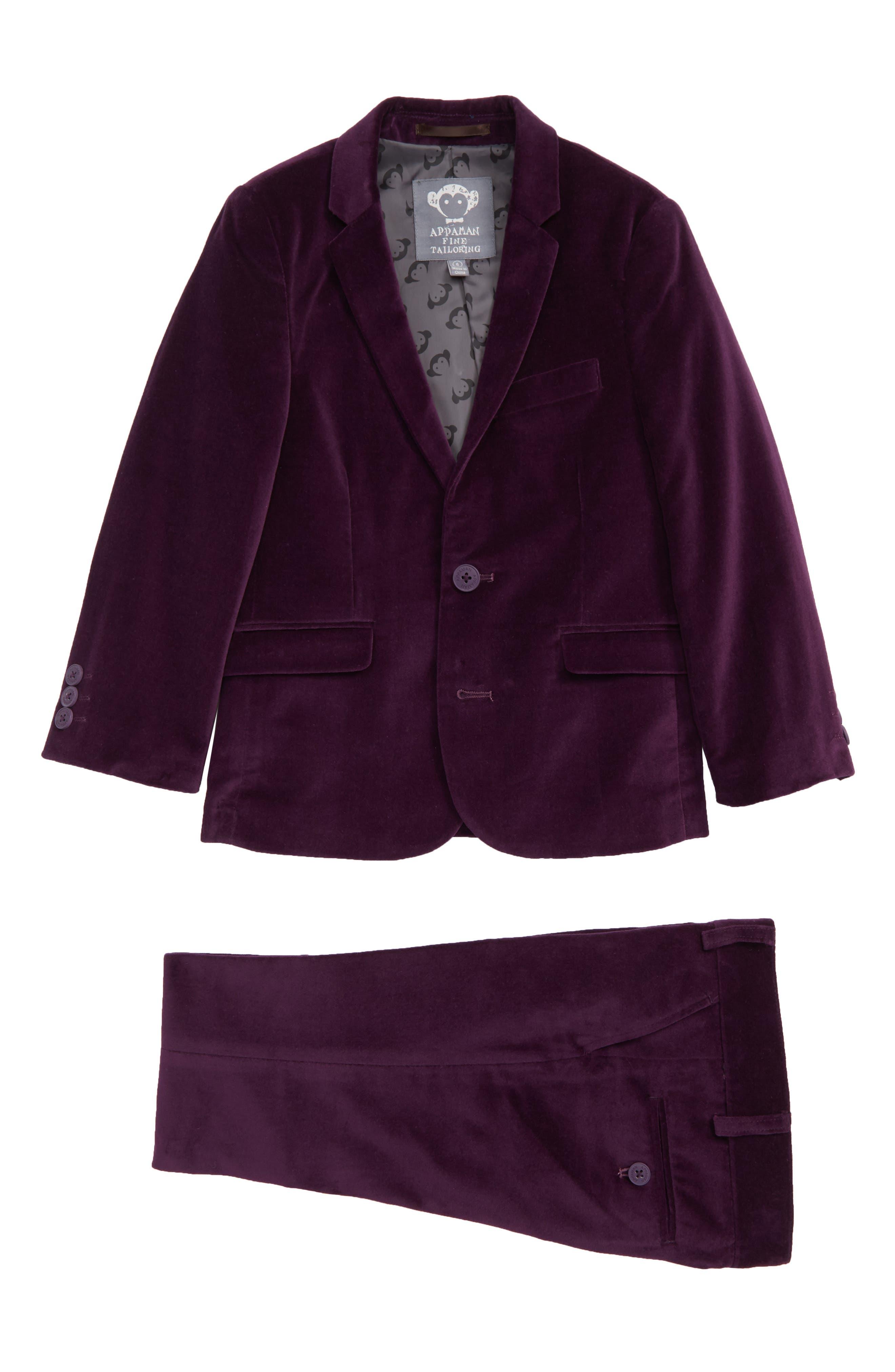 Toddler Boys Appaman Mod TwoPiece Velveteen Suit