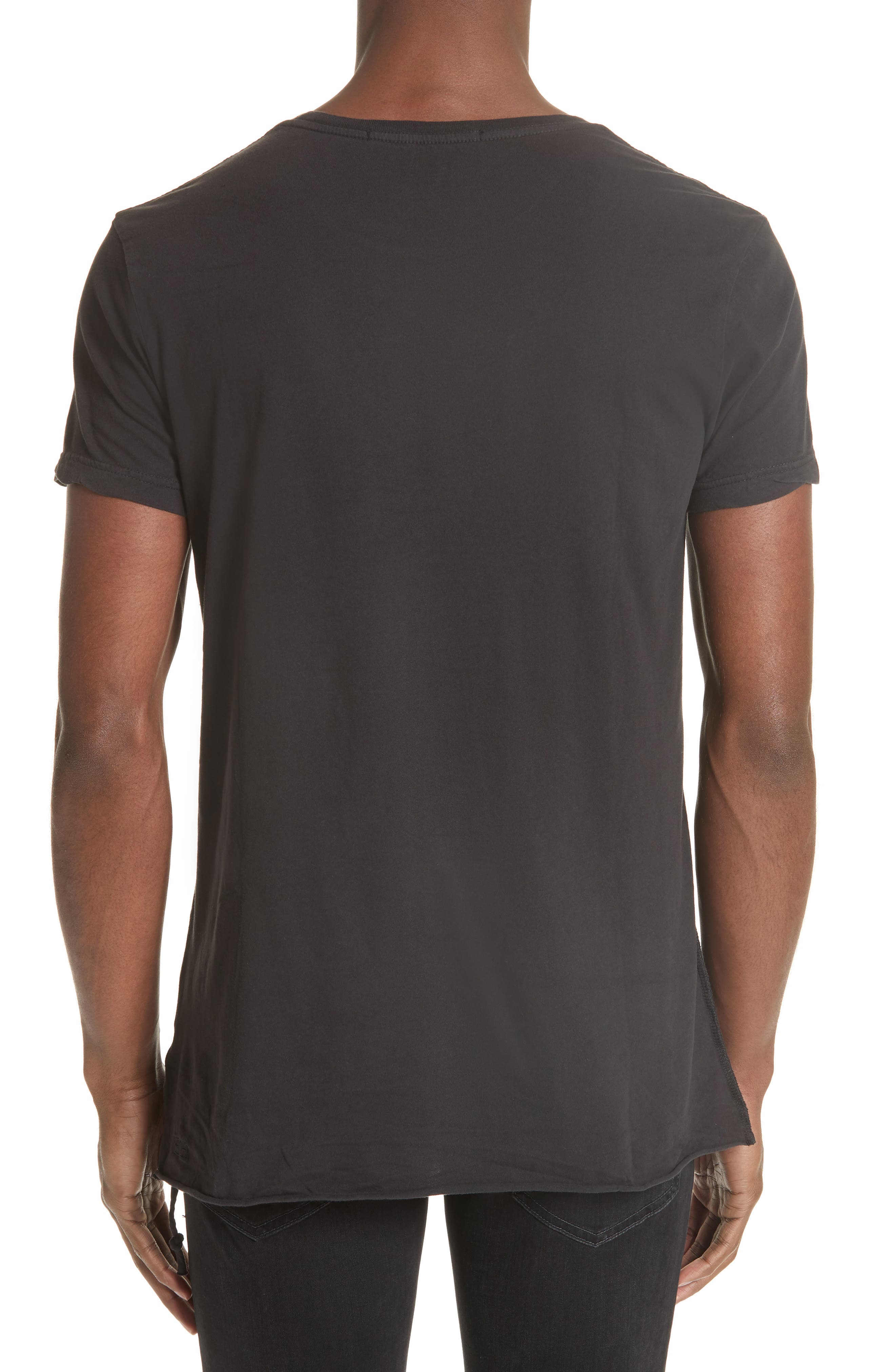 Seeing Lines T-Shirt,                             Alternate thumbnail 2, color,                             BLACK