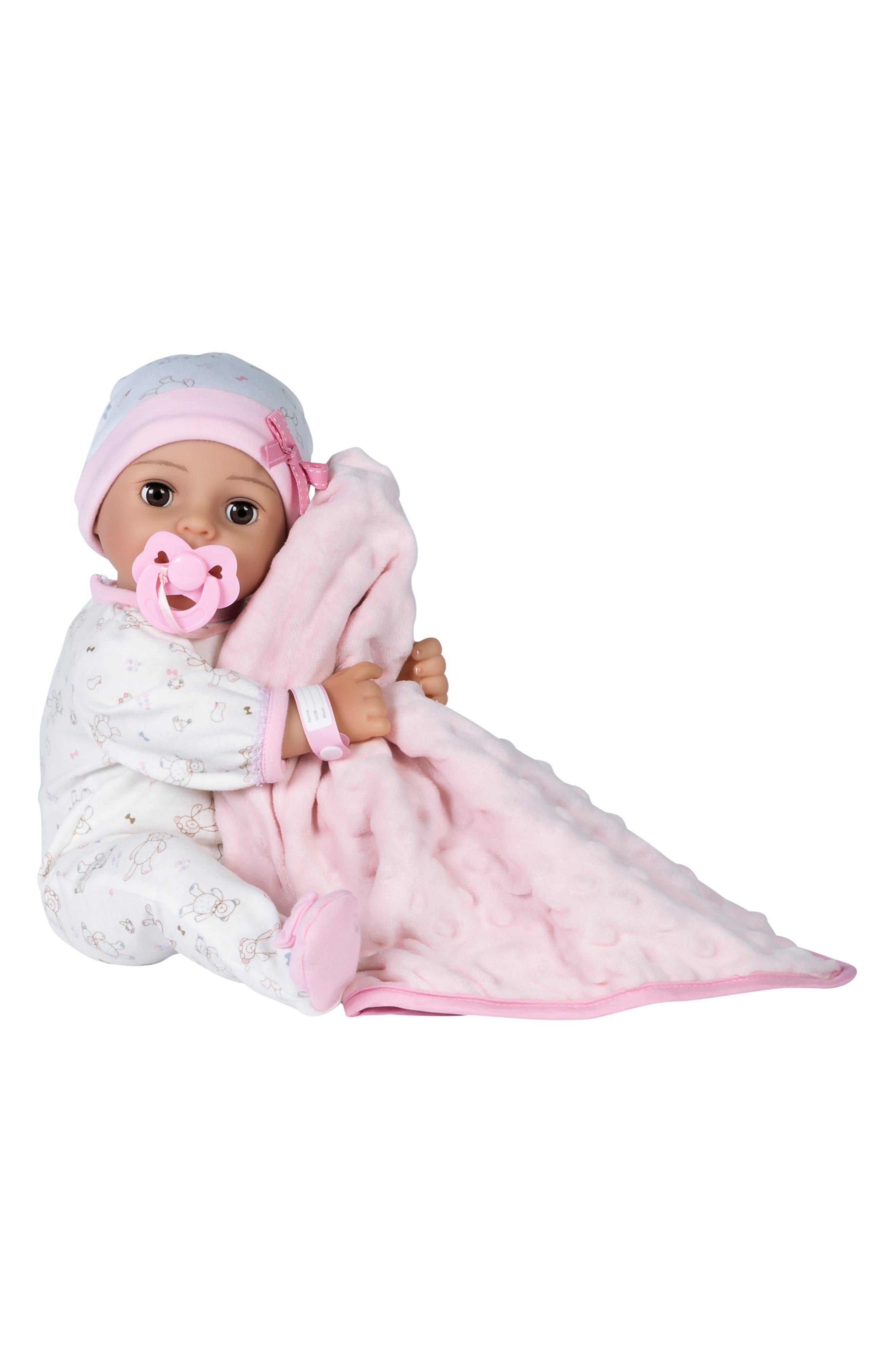 Girls Adora Cherish Baby Doll With Adoption Certificate