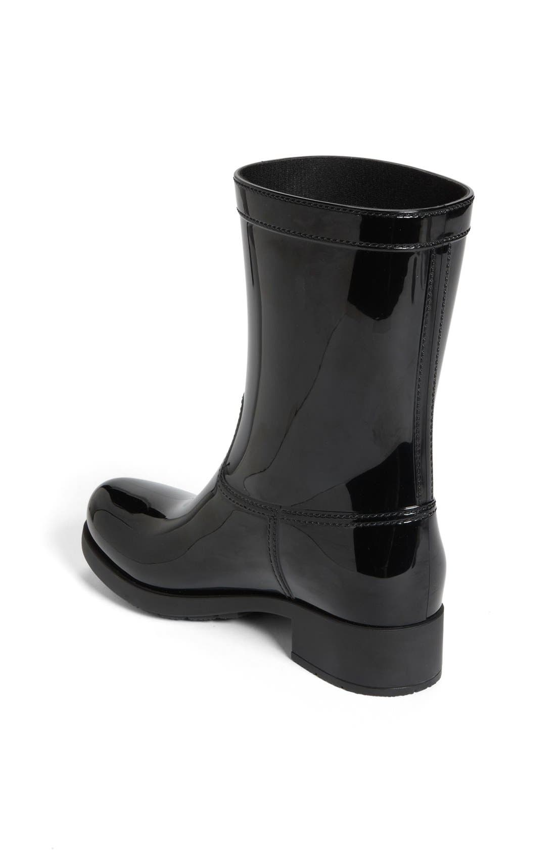Rubber Rain Boot,                             Alternate thumbnail 4, color,                             002