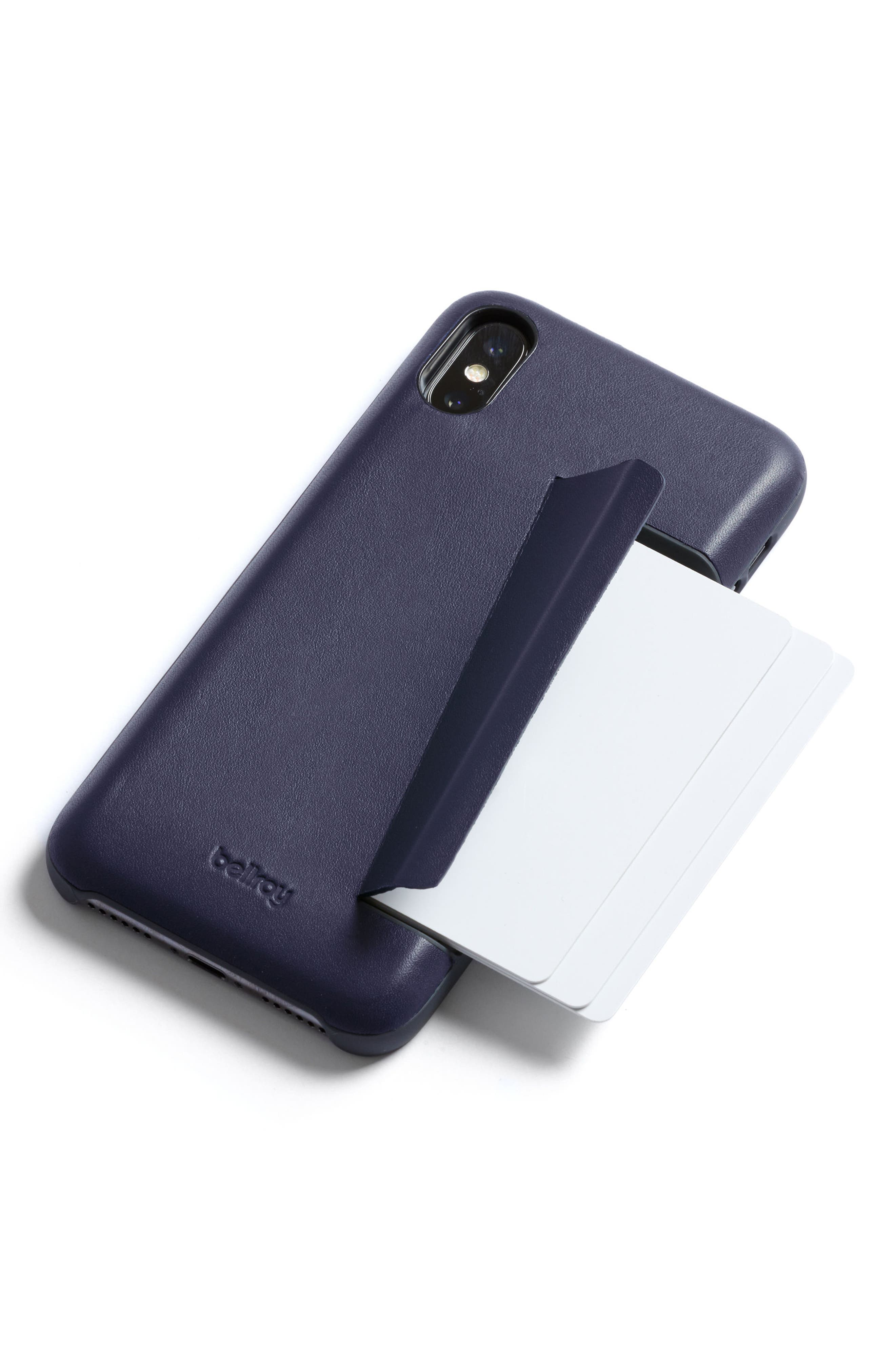 Three Card iPhone X & Xs Case,                             Alternate thumbnail 16, color,