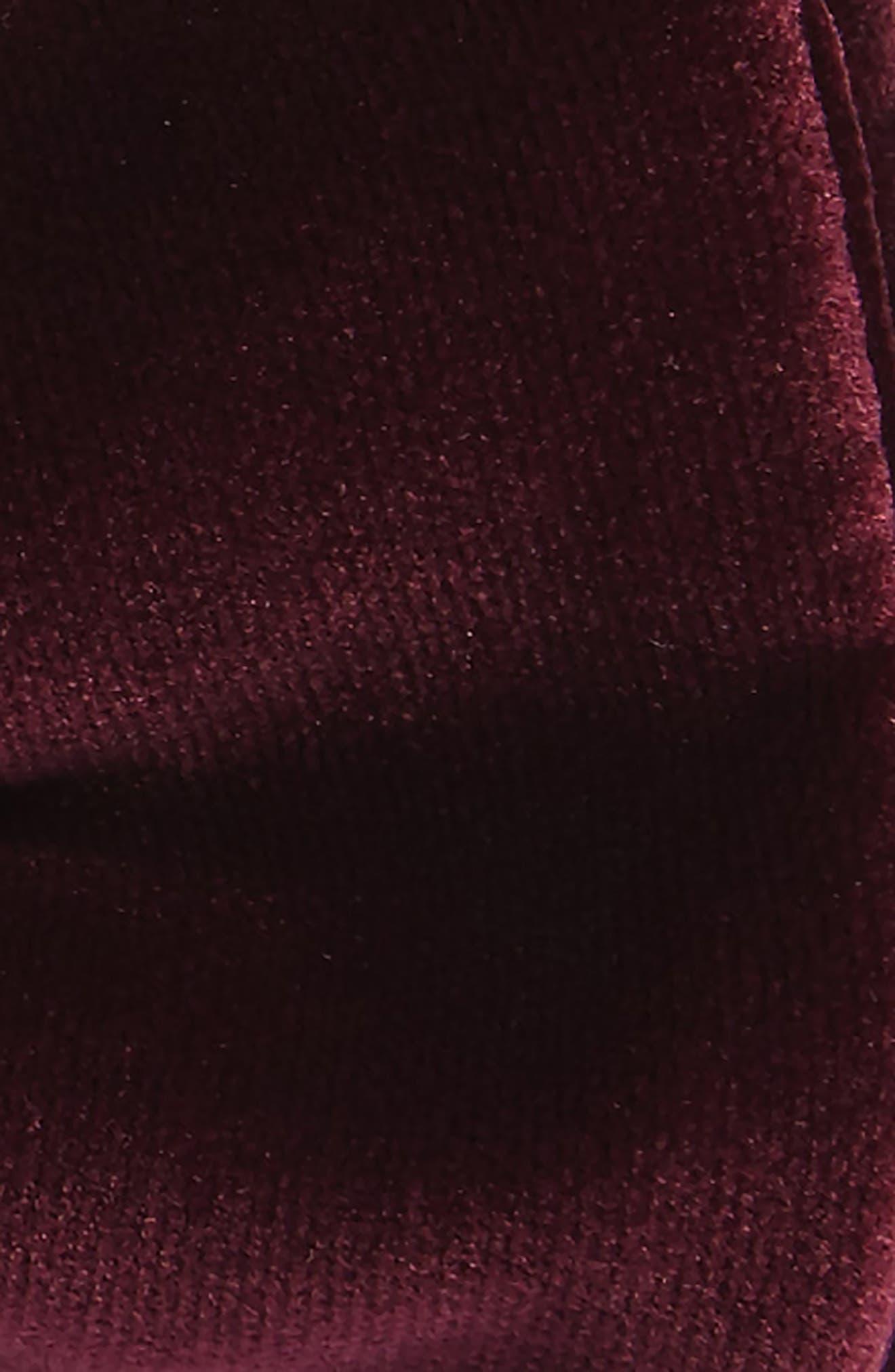 Velvet Bow Tie,                             Alternate thumbnail 6, color,