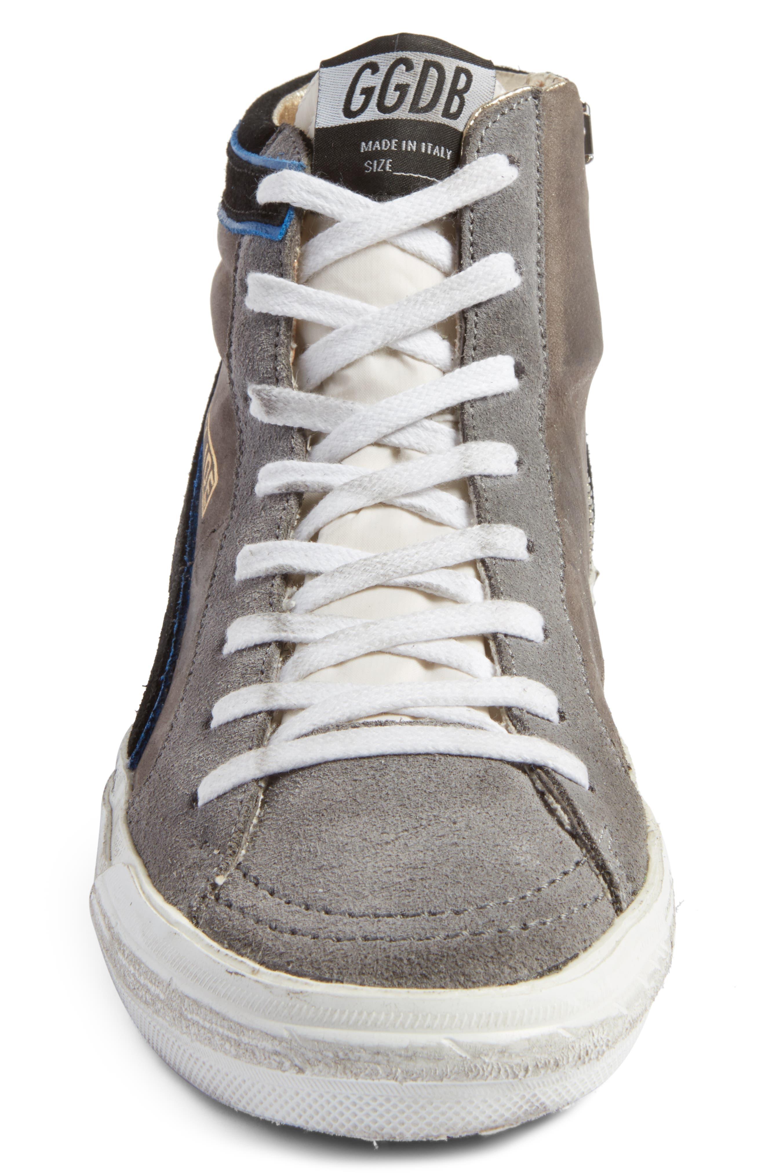 Slide High Top Sneaker,                             Alternate thumbnail 4, color,                             021