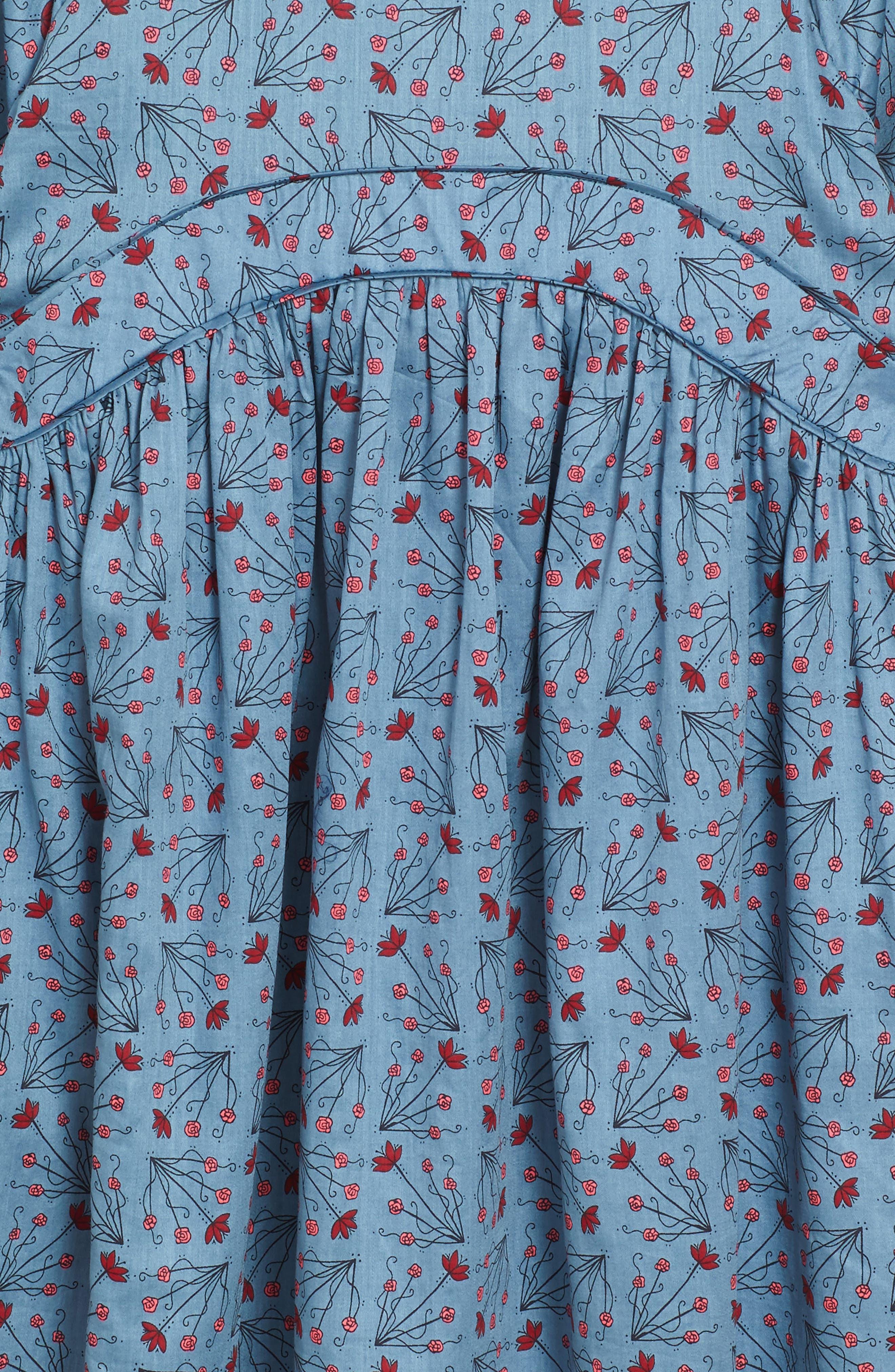 Aviemore Empire Dress,                             Alternate thumbnail 3, color,