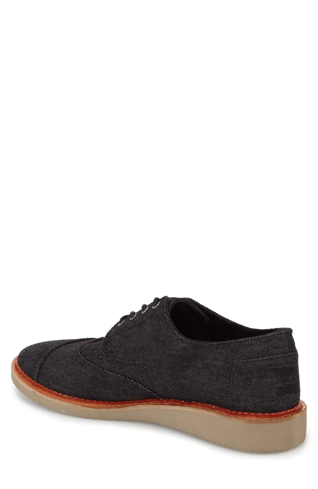 'Classic Brogue' Cotton Twill Derby,                             Alternate thumbnail 33, color,