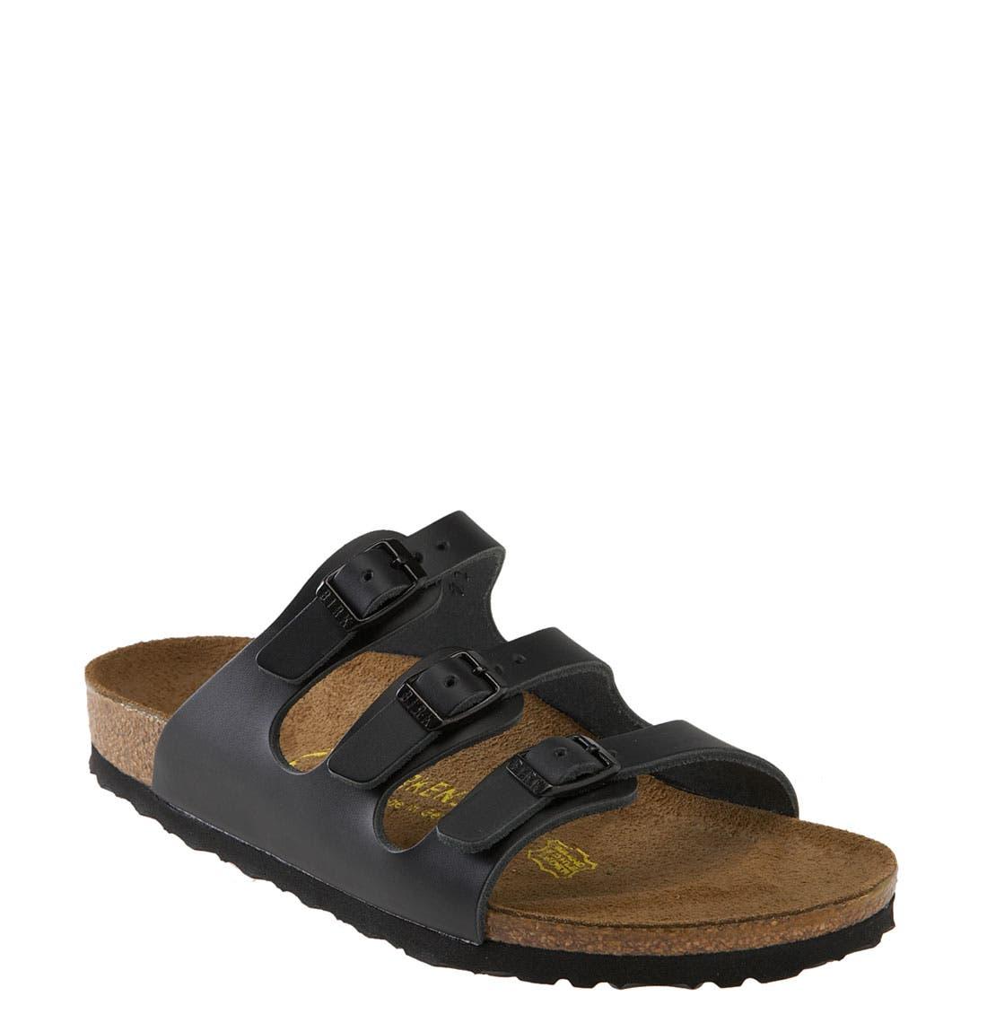 BIRKENSTOCK 'Florida' Sandal, Main, color, 001