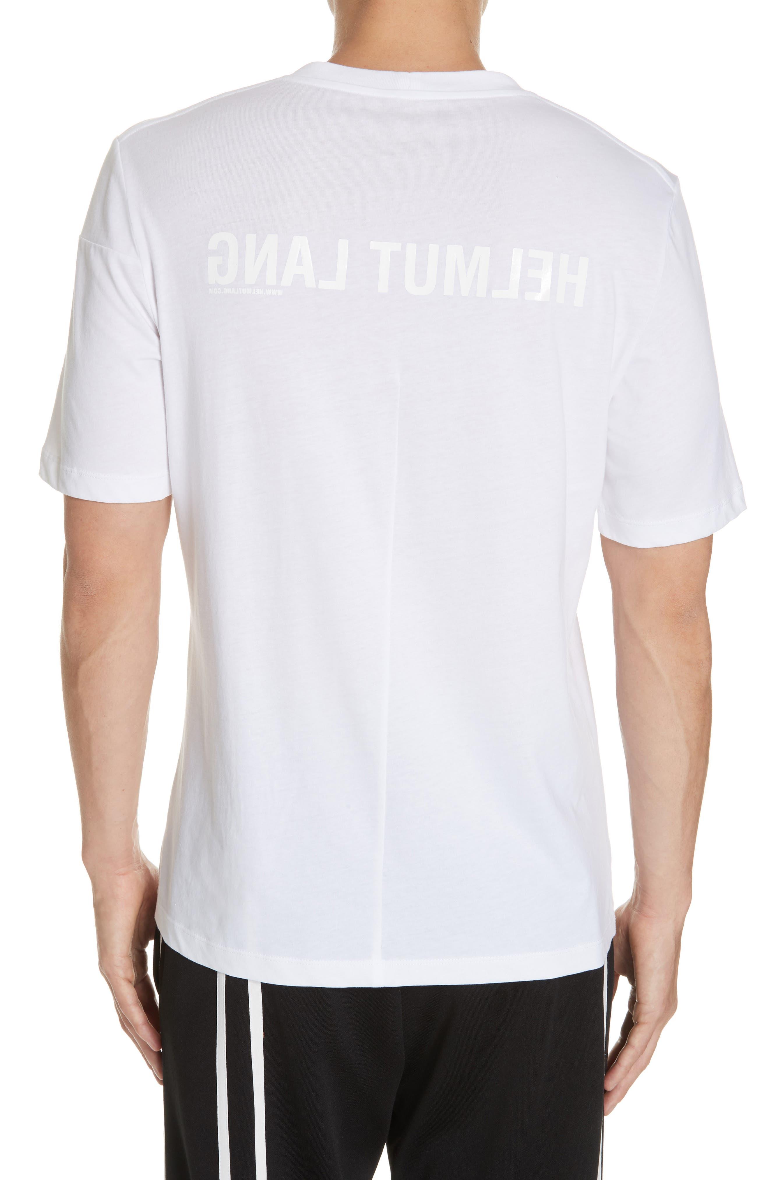 Band Logo T-Shirt,                             Alternate thumbnail 2, color,                             WHITE